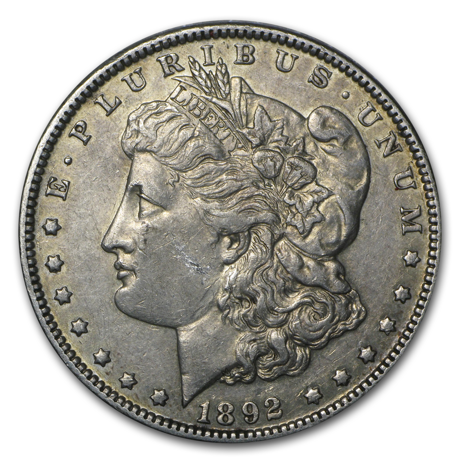 1892 Morgan Dollar XF