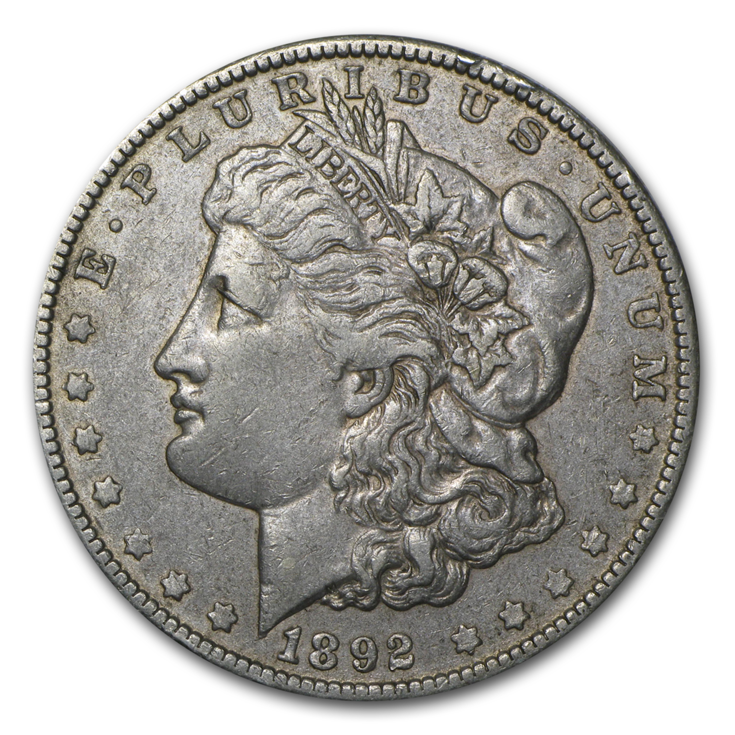 1892-O Morgan Dollar XF