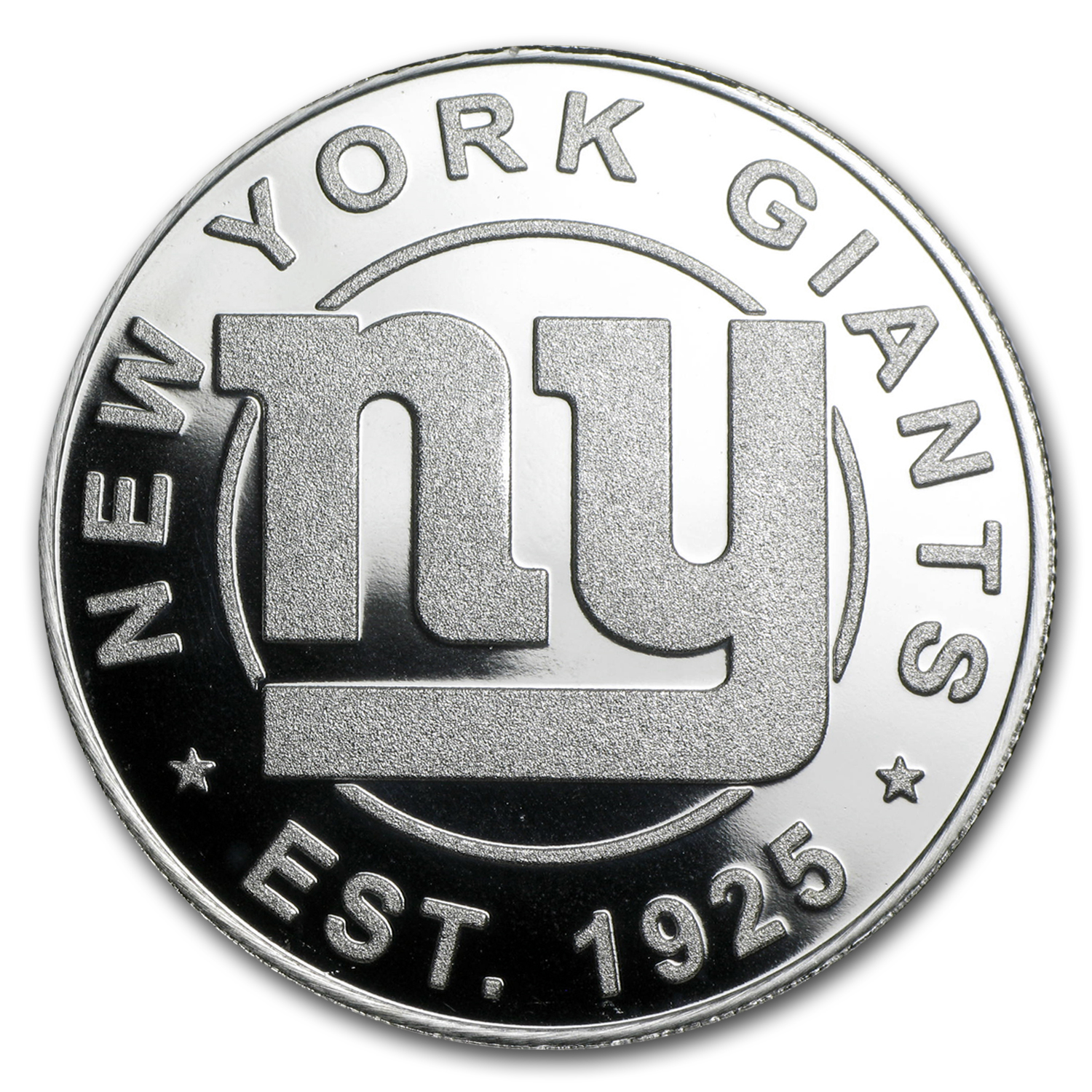 1 oz Silver Round - New York Giants