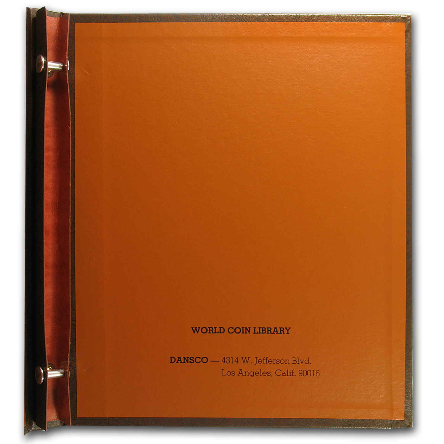 "Dansco Blank Binder - 5/8"" (2 - 4 Pages)"