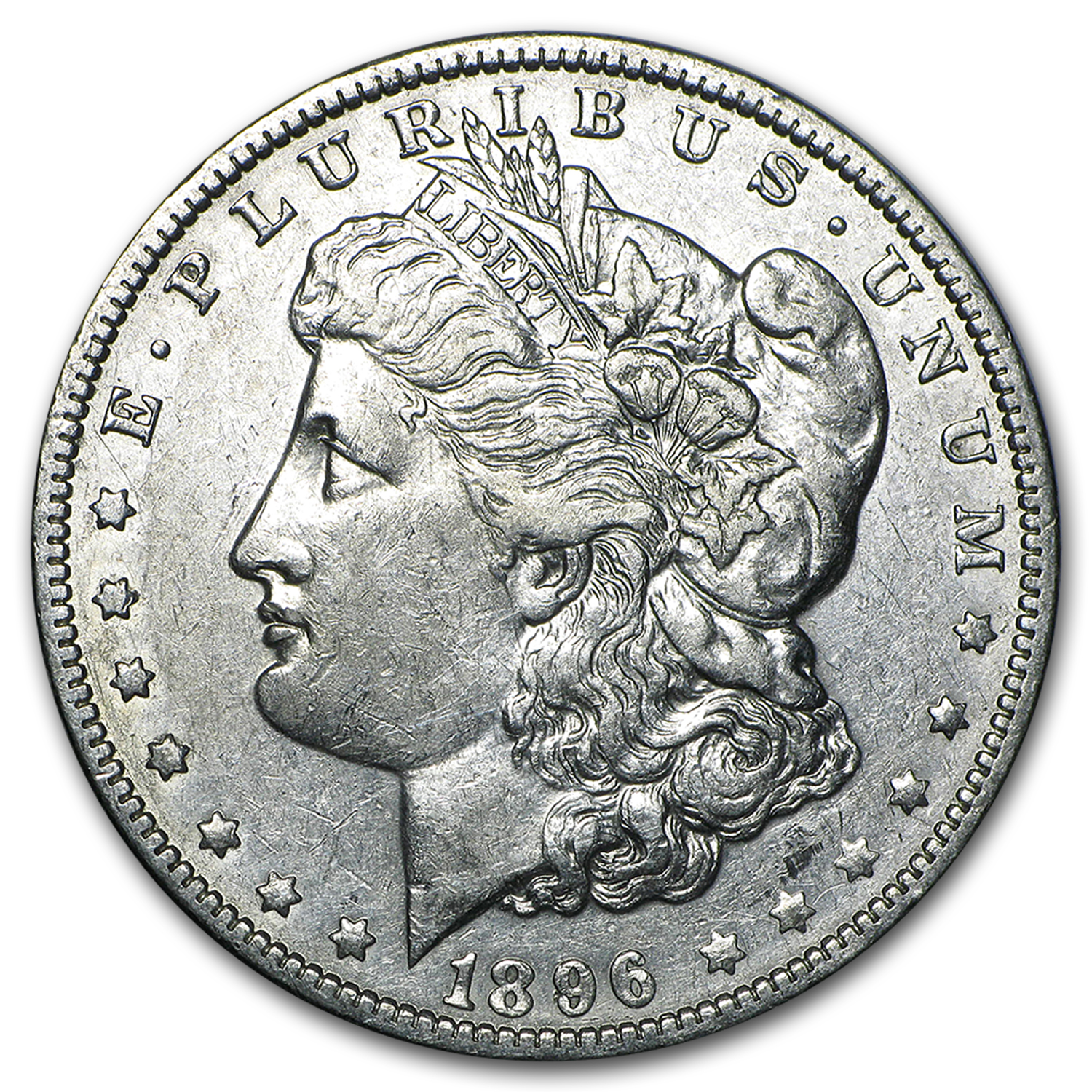 1896-O Morgan Dollar XF