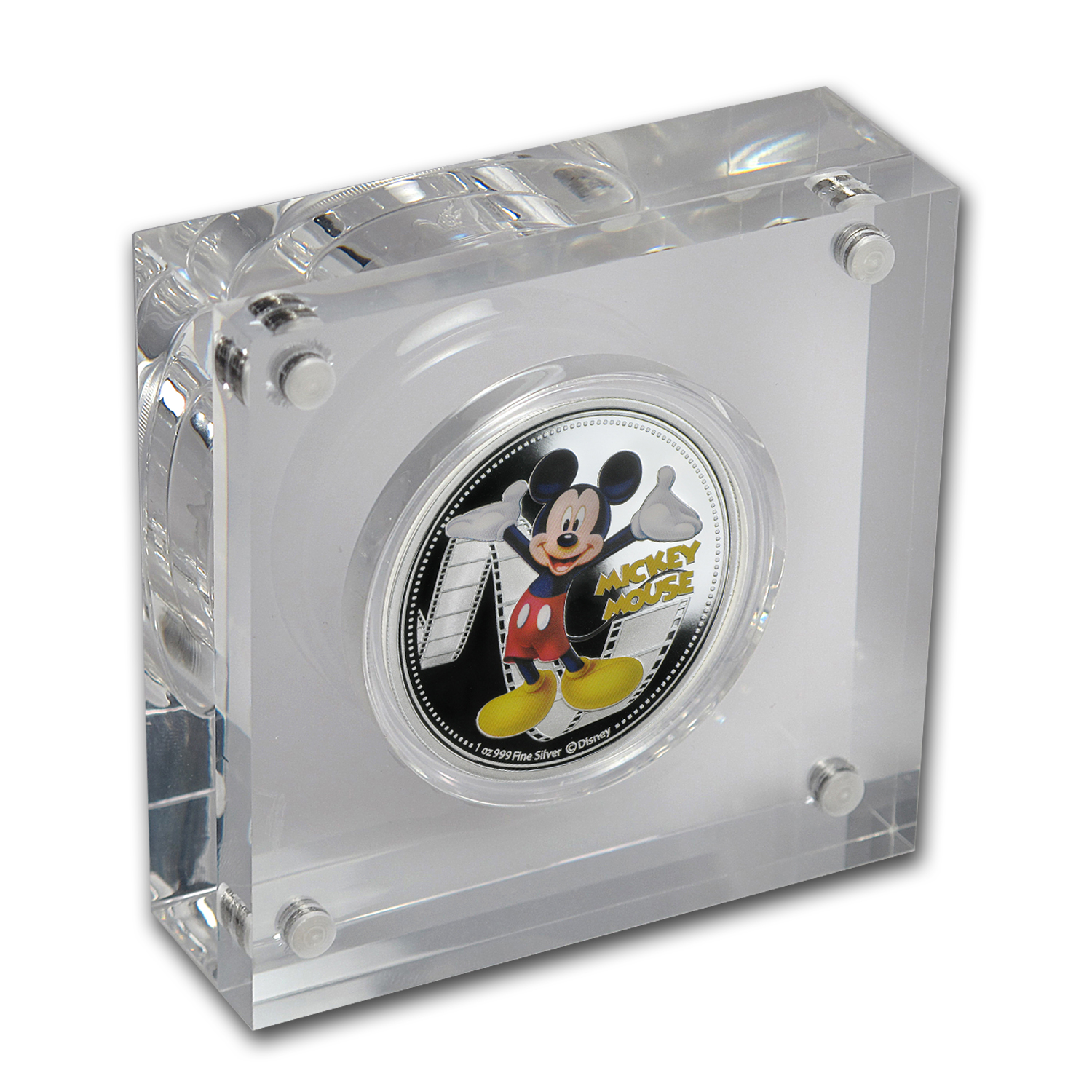 2014 Niue 6-Coin Silver $2 Disney Mickey & Friends Set (Colored)