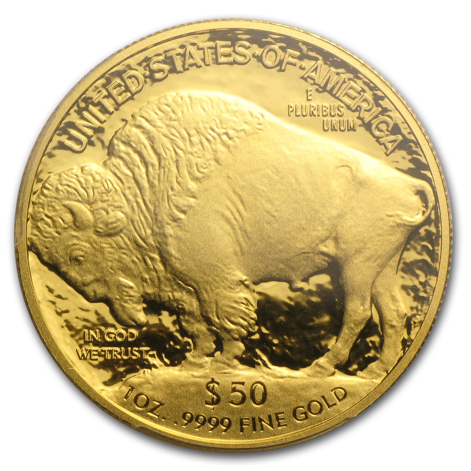 2013-W 1 oz Proof Gold Buffalo PR-70 PCGS (Signed Label)