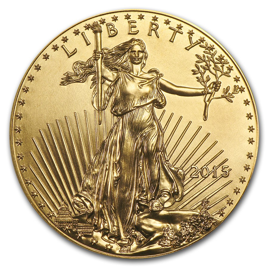 2015 1 10 Oz Gold Eagle Coins For Sale Tenth Ounce Gold