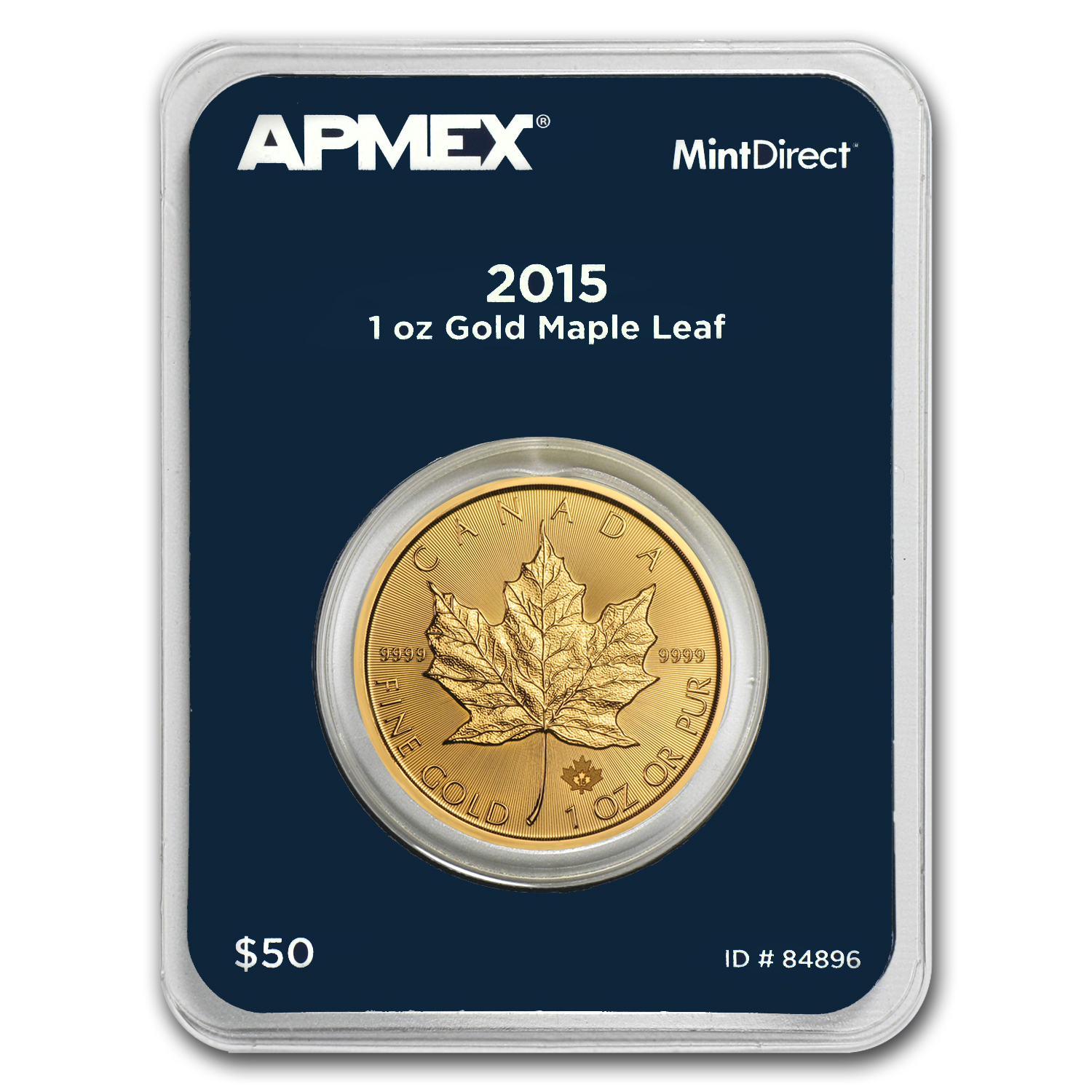 2015 Canada 1 oz Gold Maple Leaf (MintDirect® Single)