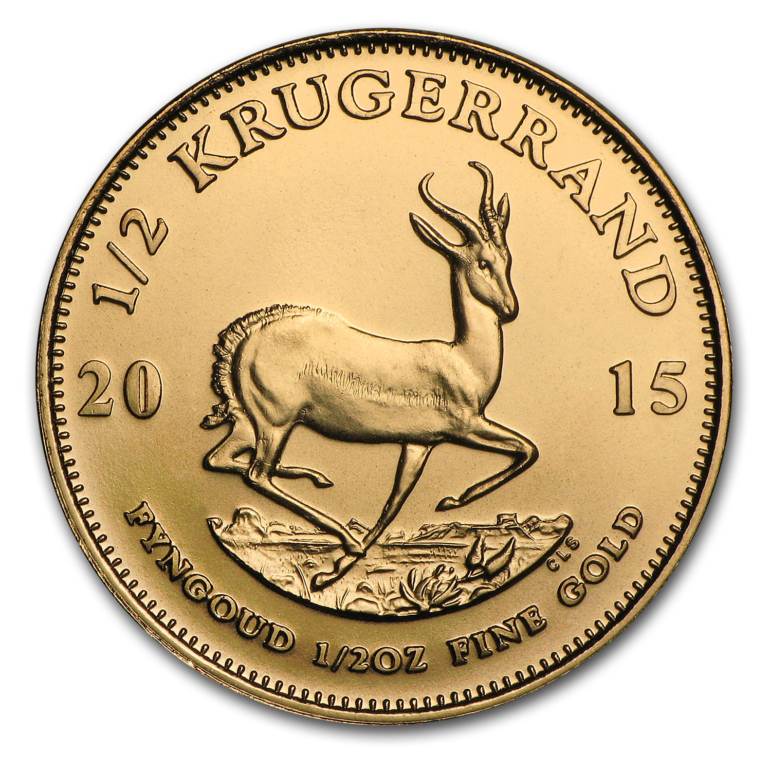 2015 South Africa 1/2 oz Gold Krugerrand