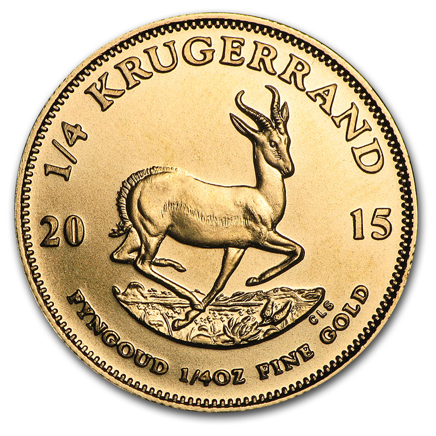 2015 South Africa 1/4 oz Gold Krugerrand