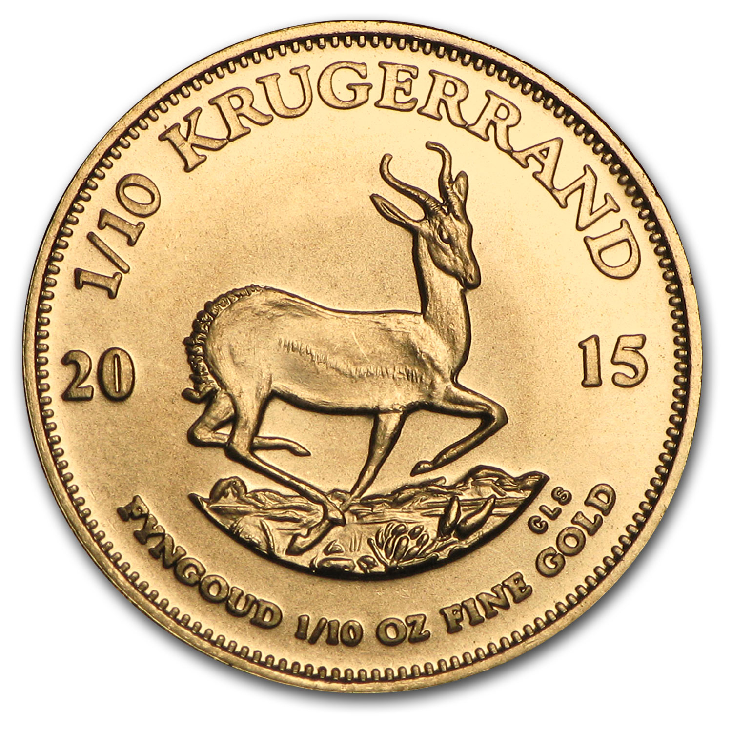 2015 South Africa 1/10 oz Gold Krugerrand