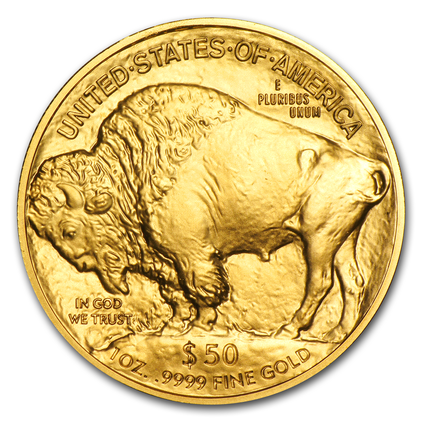 2015 1 oz Gold Buffalo BU 1/14