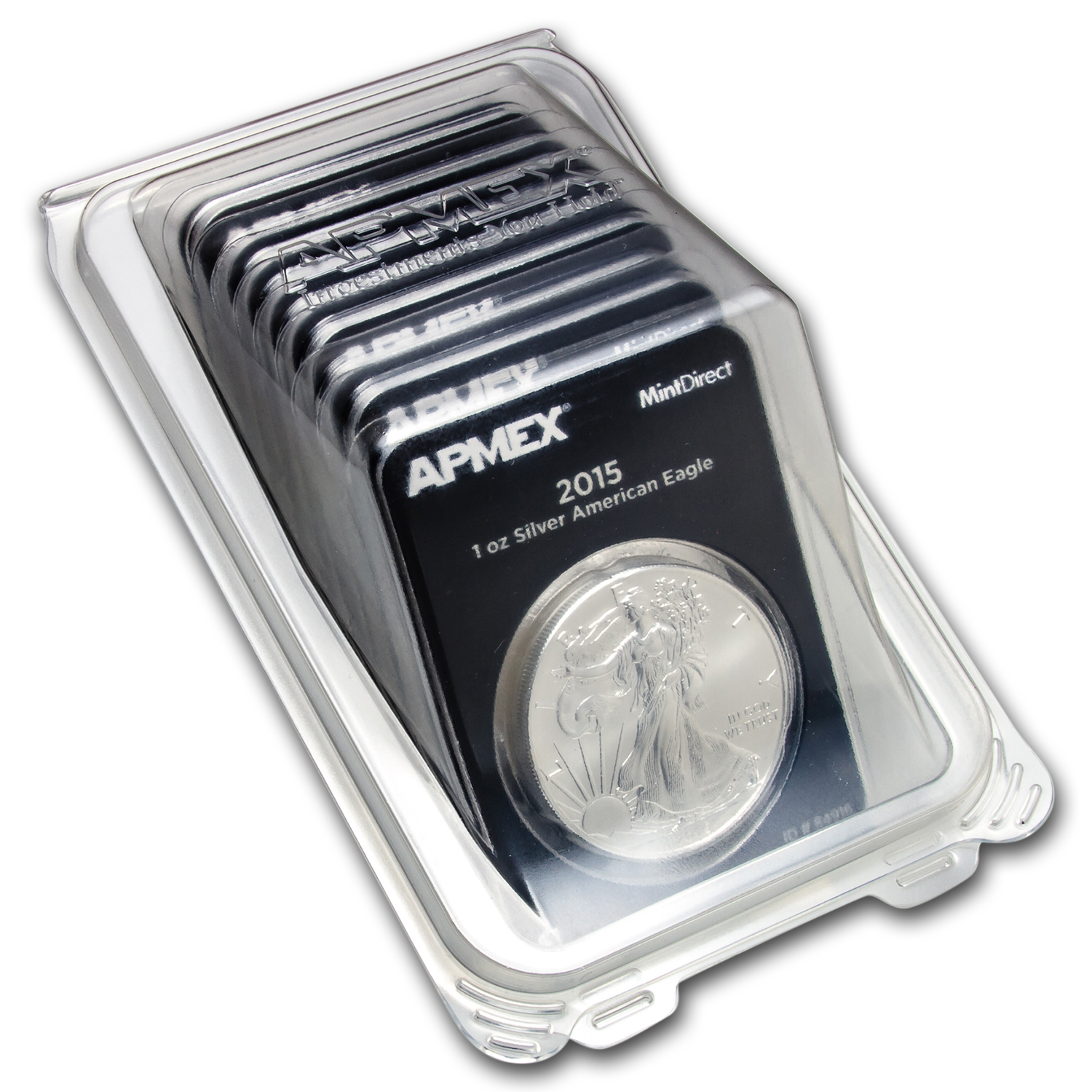 2015 1 oz Silver American Eagle (MintDirect® Single)