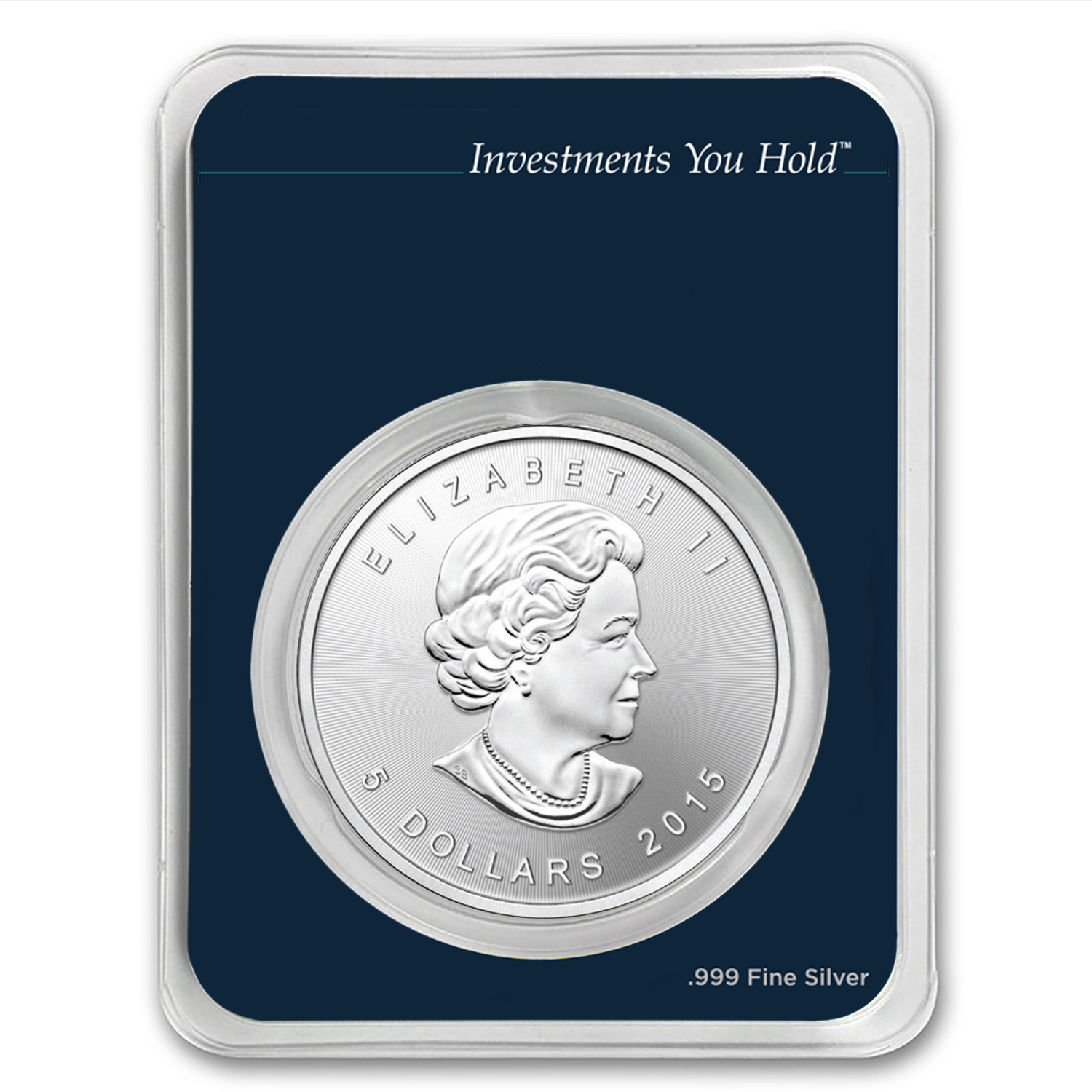 2015 Canada 1 oz Silver Maple Leaf (MintDirect® Single)