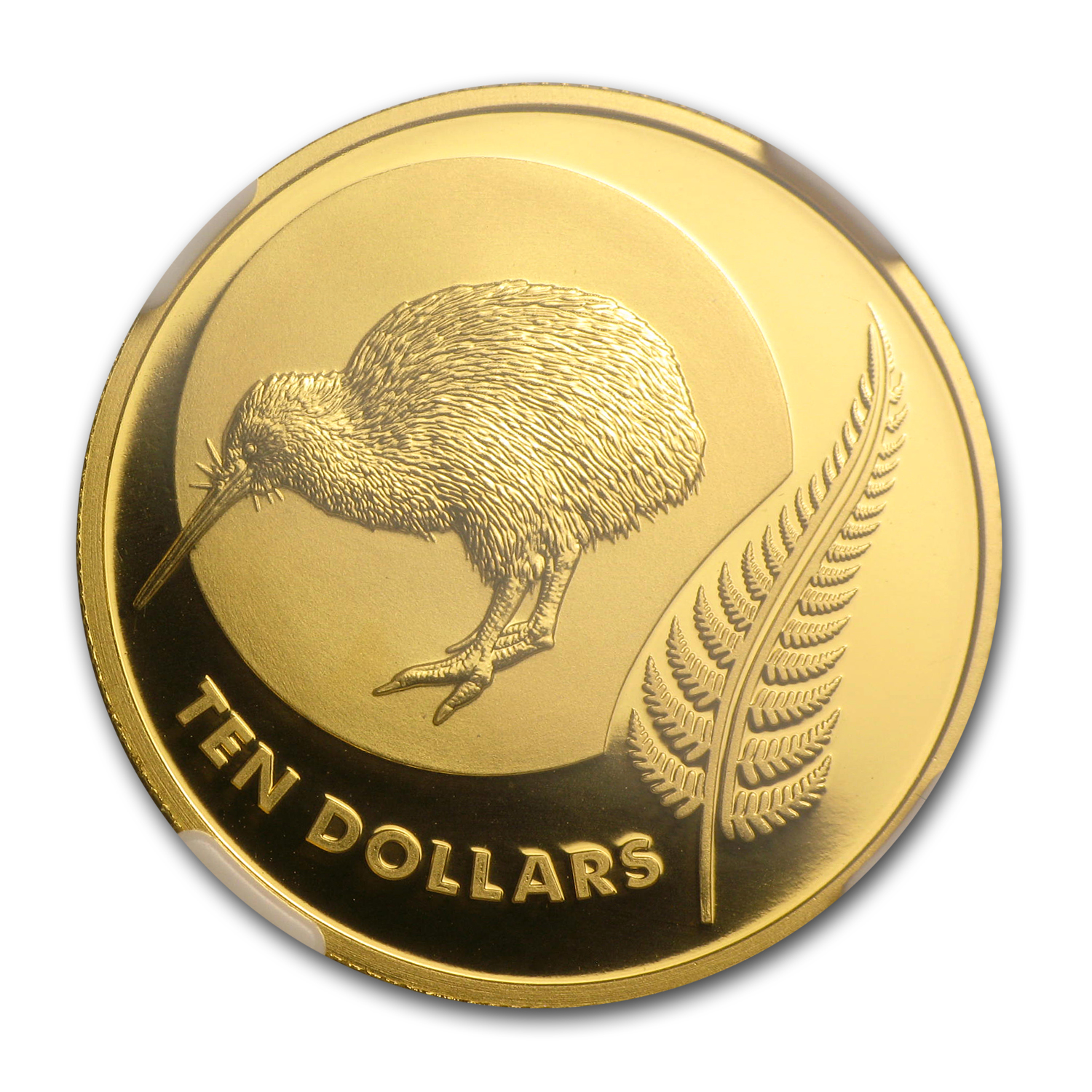 2011 1/4 oz Gold New Zealand Kiwi Icon $10 PF-69 NGC