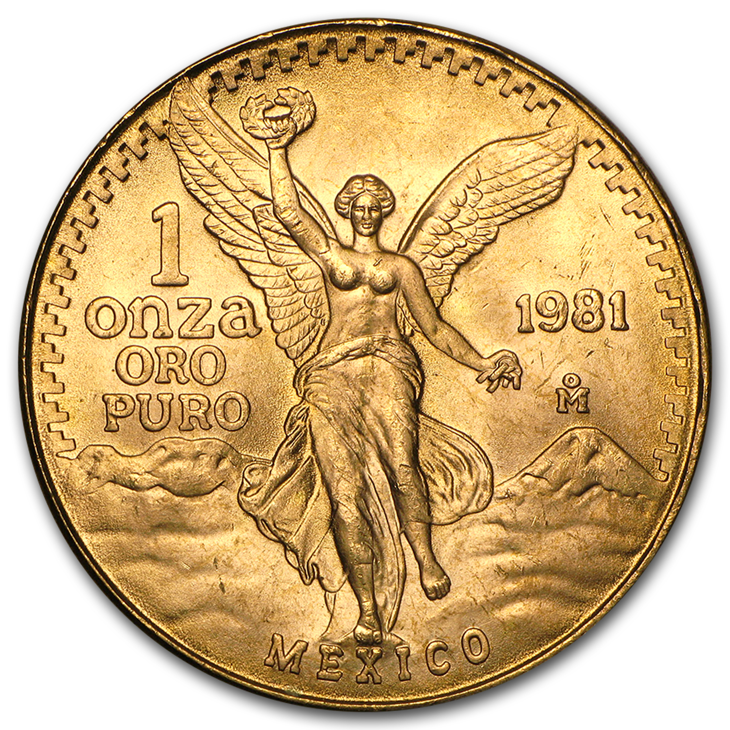 1981 Mexico 1 oz Gold Libertad BU