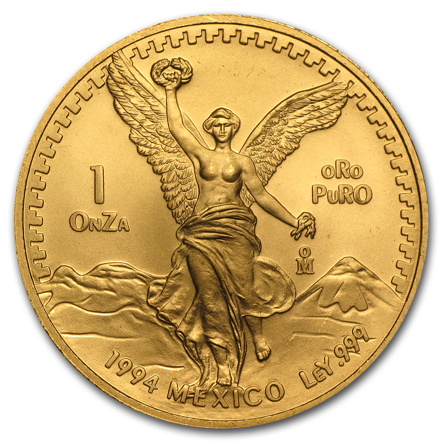 1994 Mexico 1 oz Gold Libertad BU