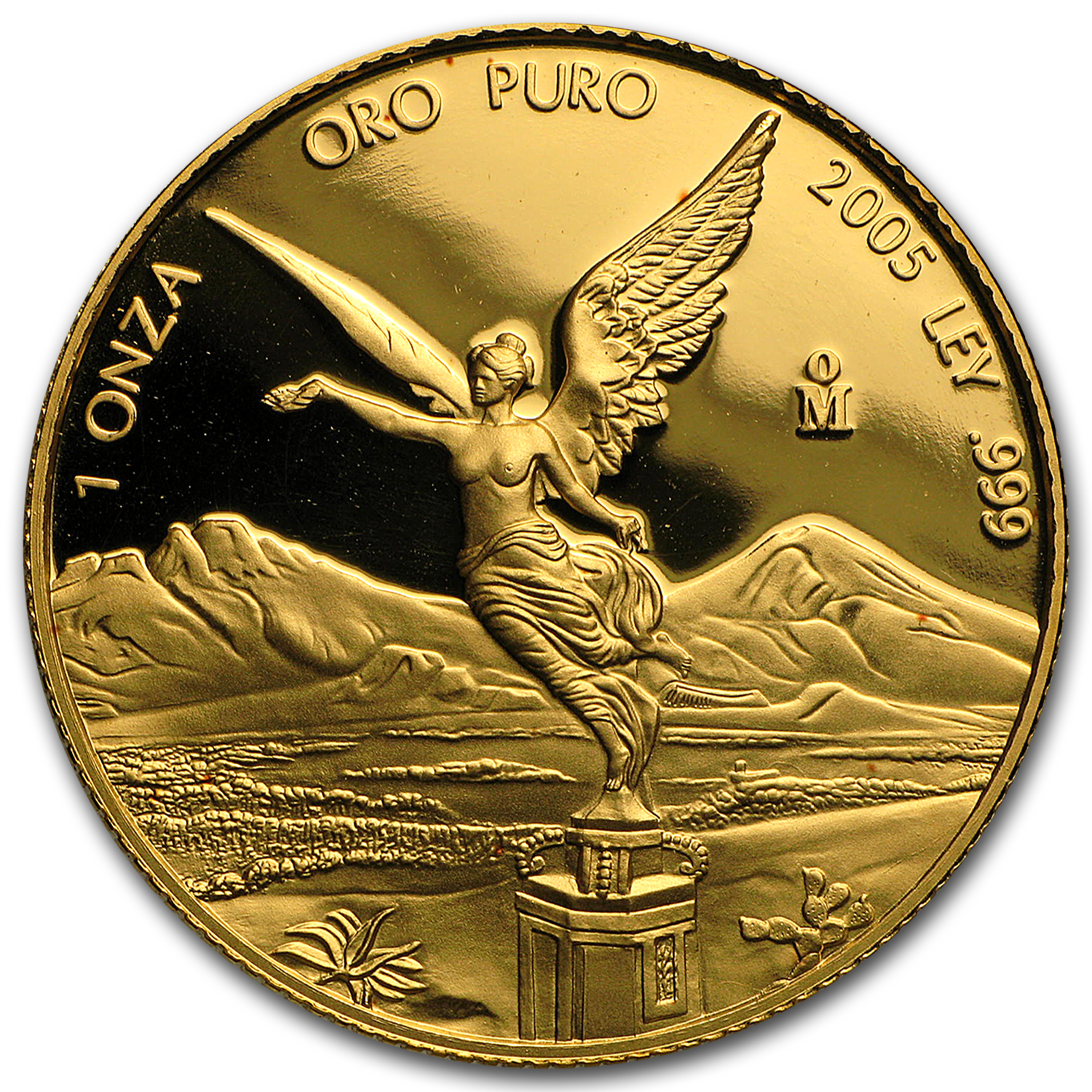 2005 Mexico 1 oz Proof Gold Libertad