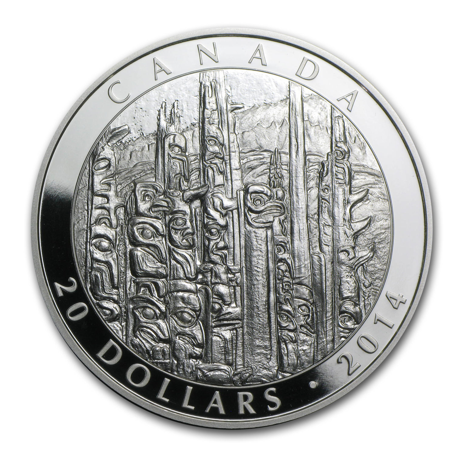 2014 1 oz Silver Canadian $20 Celebrating Emily Carr