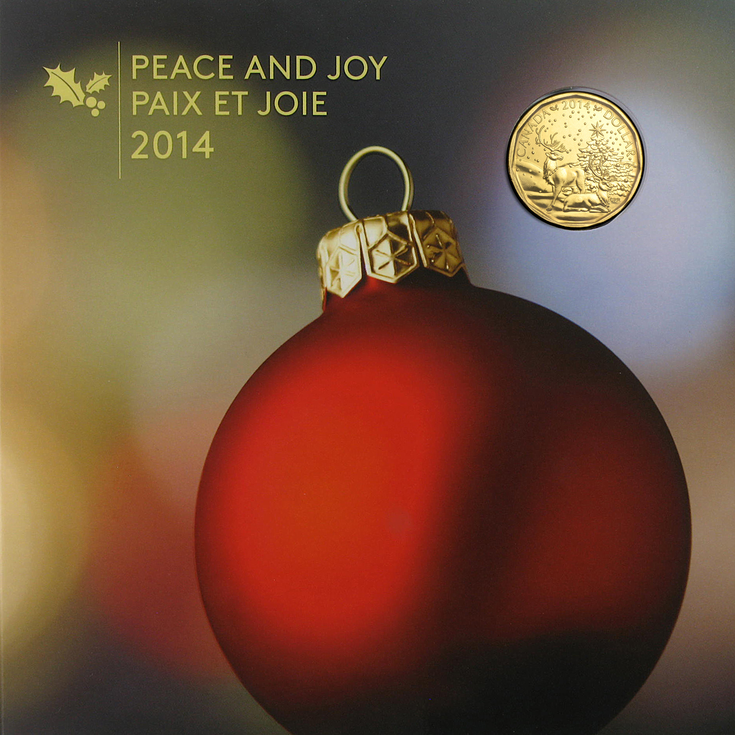 2014 5-Coin Canadian Mint Holiday Gift Set