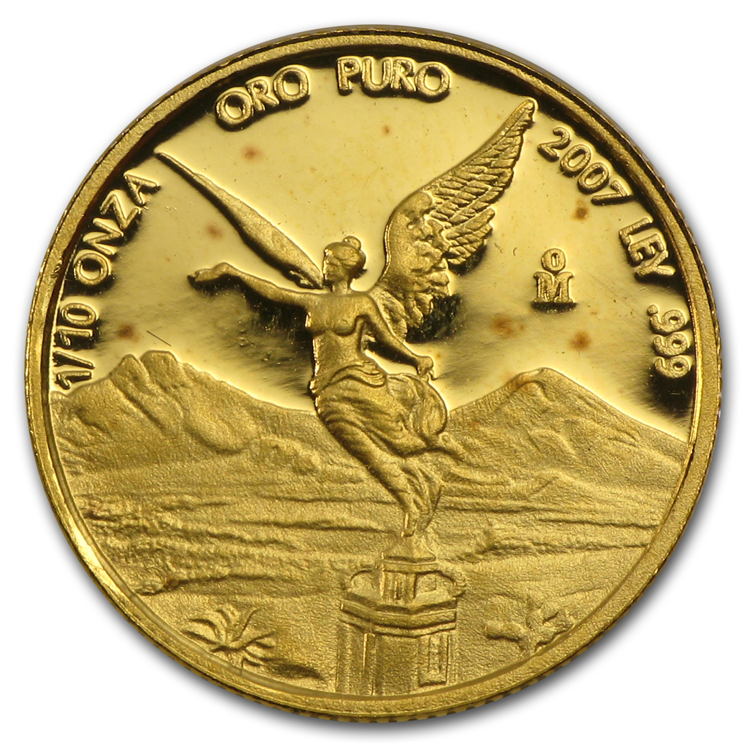 2007 Mexico 1/10 oz Proof Gold Libertad