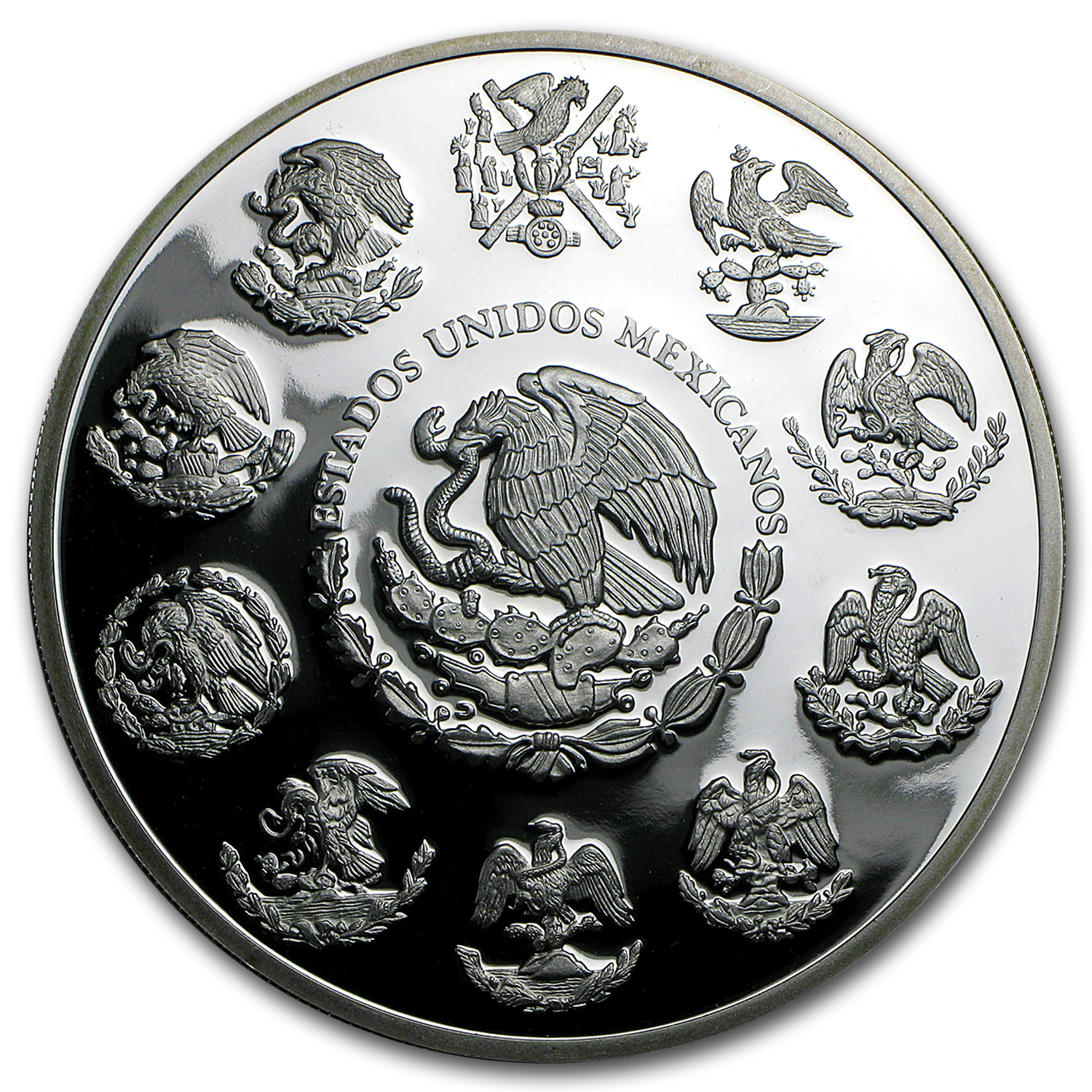 2006 Mexican 5 oz Silver Libertad Proof (In Capsule)