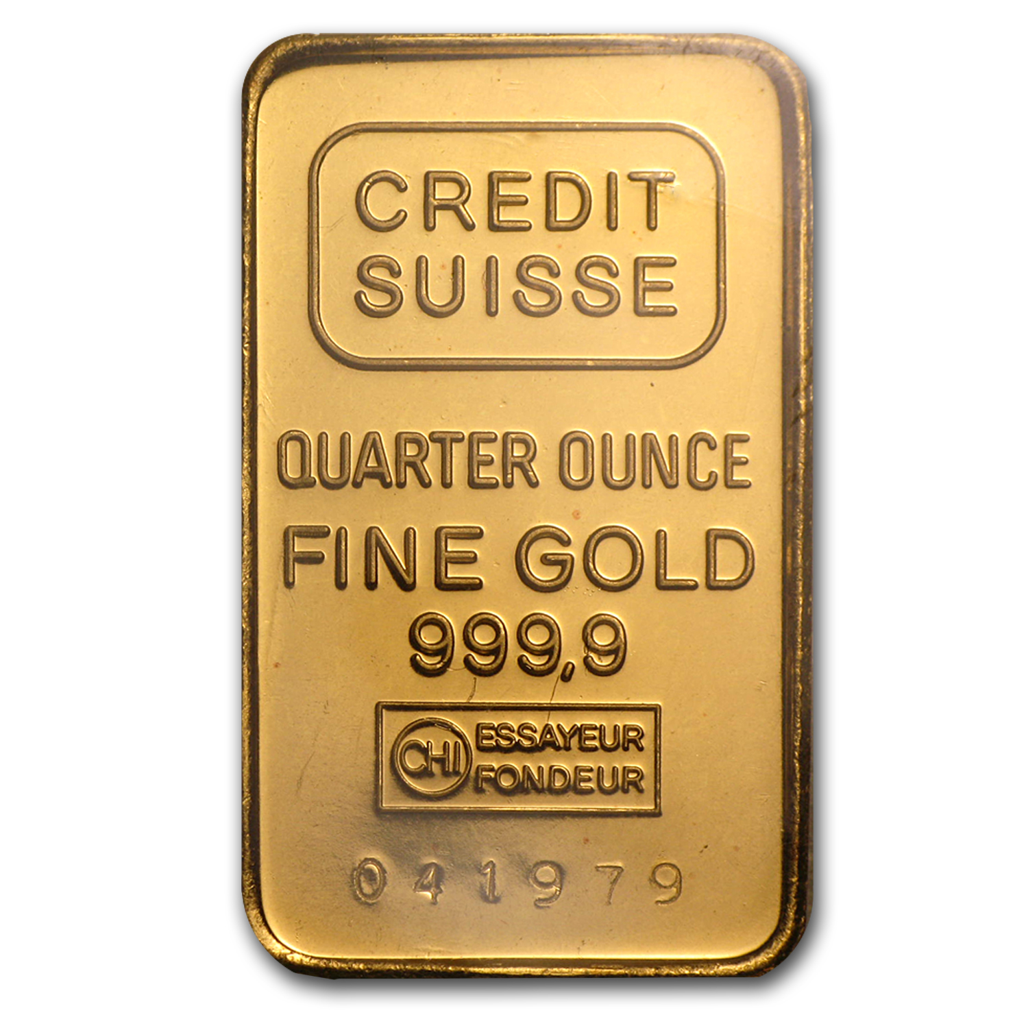 1/4 oz Gold Bar - Credit Suisse