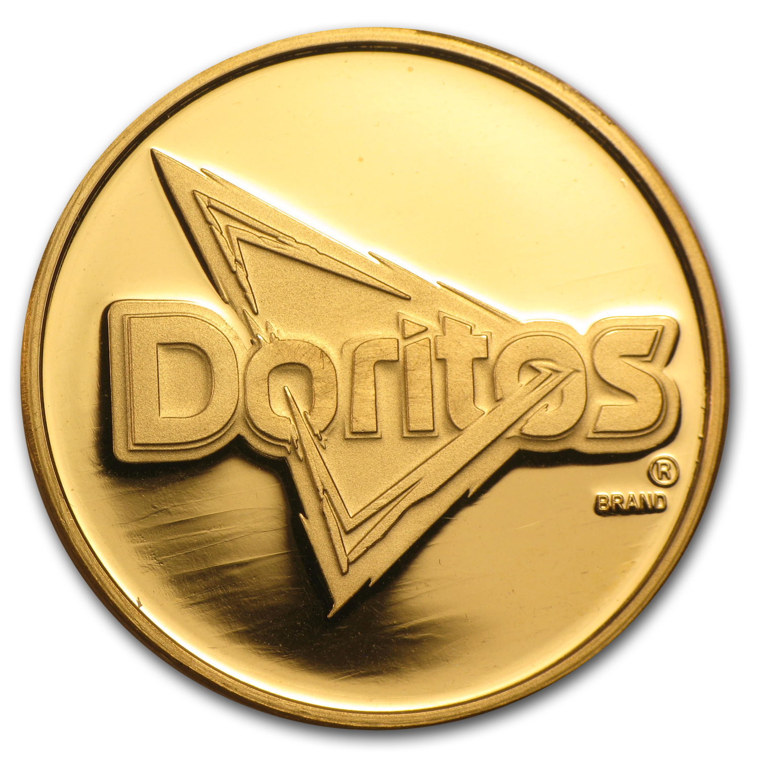 1 oz Gold Round - Doritos For The Bold (w/Box & COA)