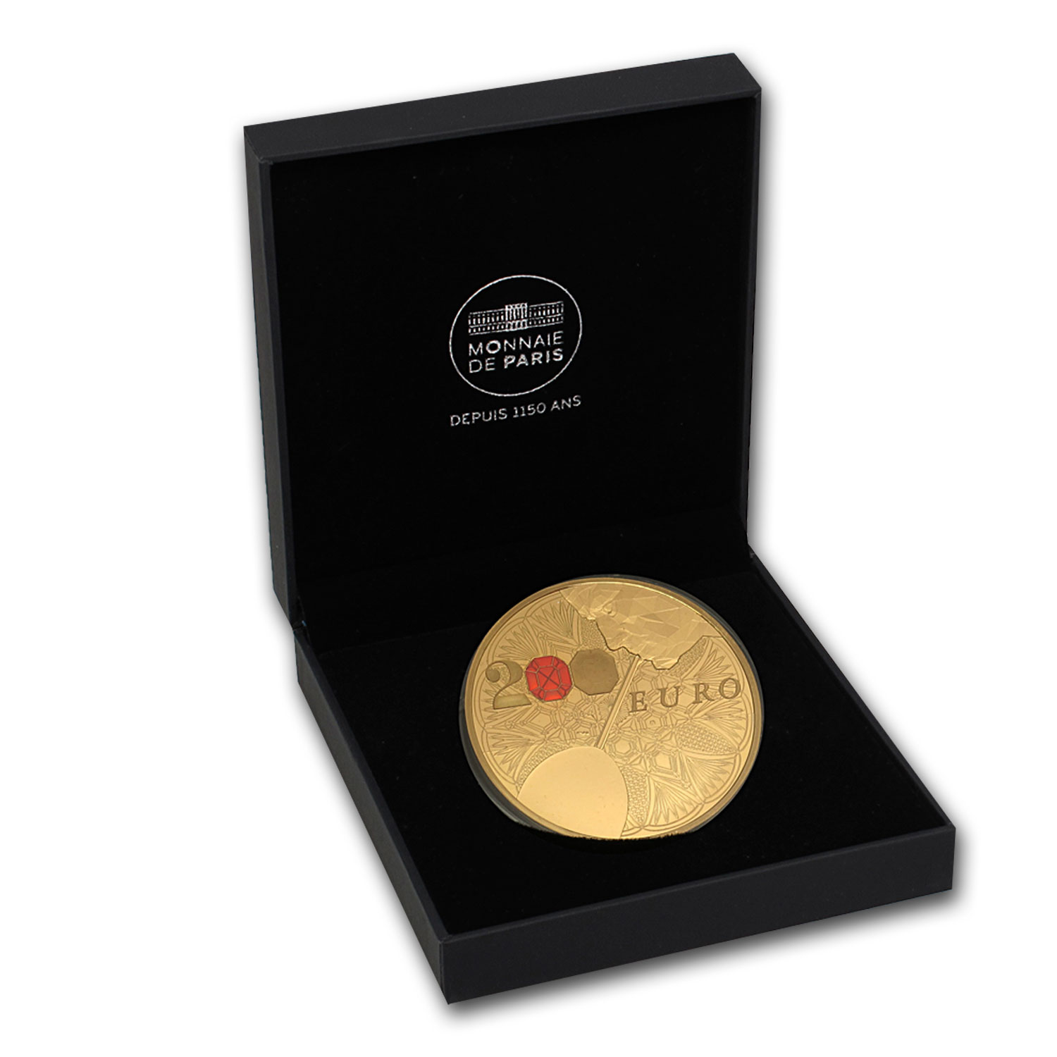 2014 1 oz Proof Gold €200 Excellence Series (Baccarat)