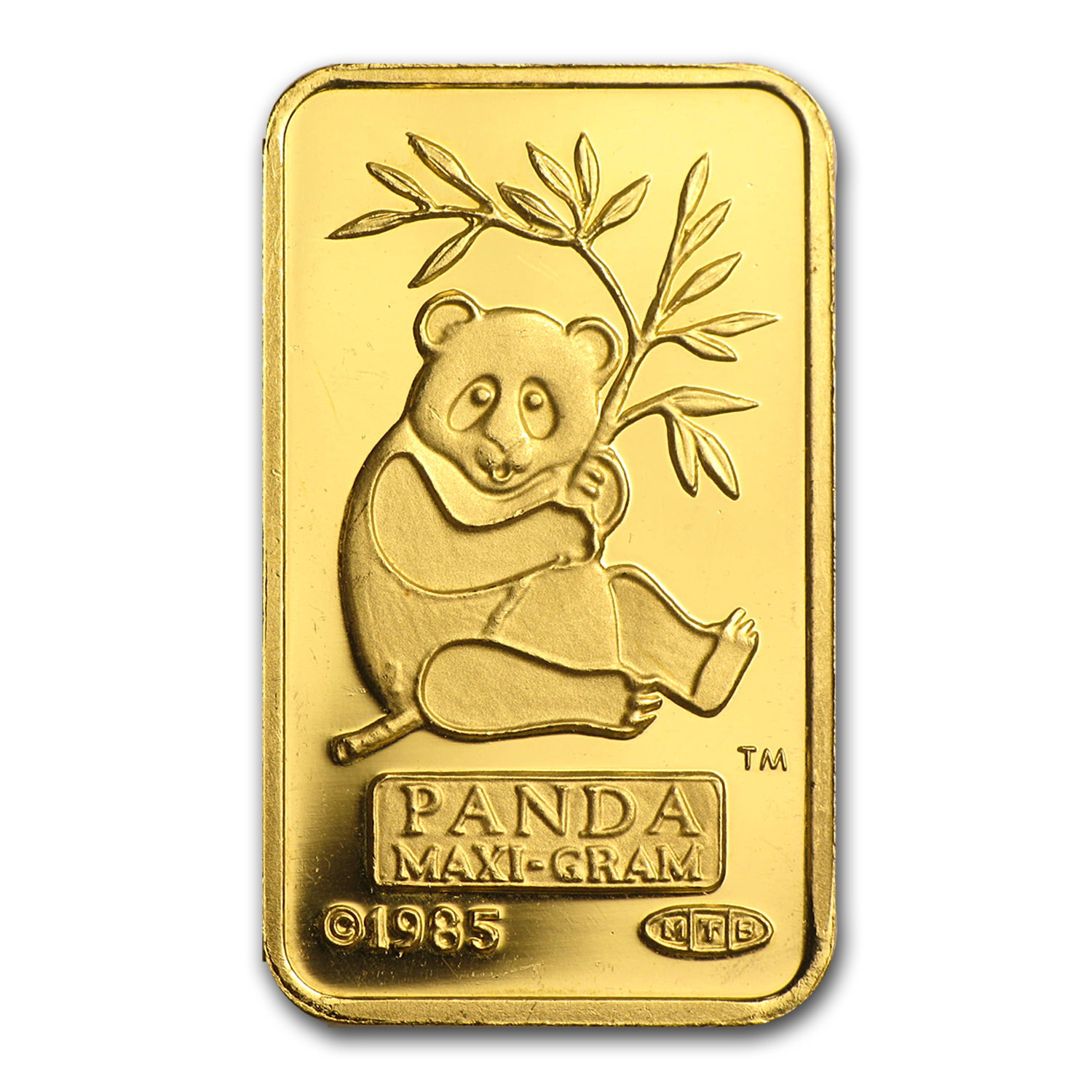 5 gram Gold Bar - Credit Suisse Panda