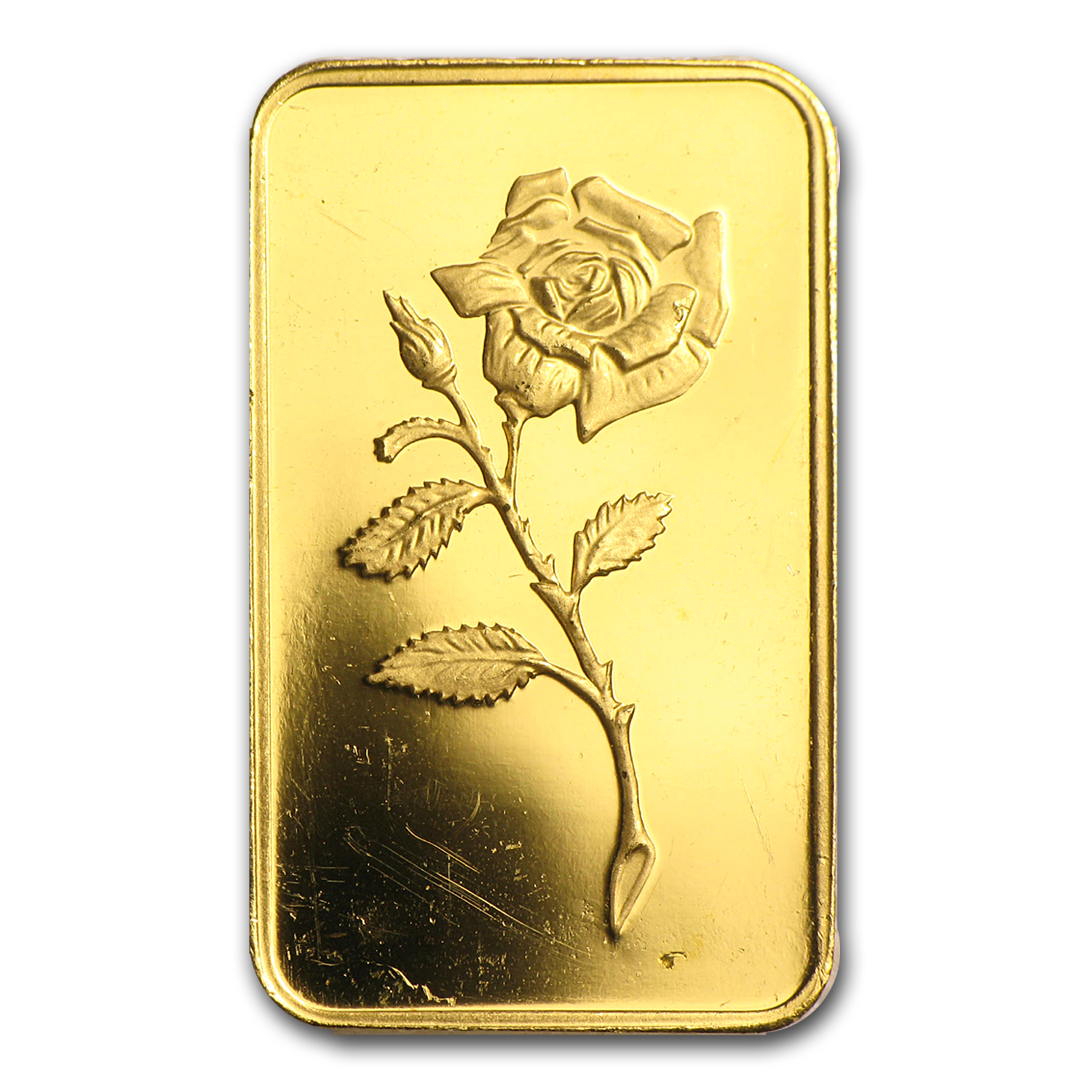 5 gram Gold Bar - Credit Suisse Rose