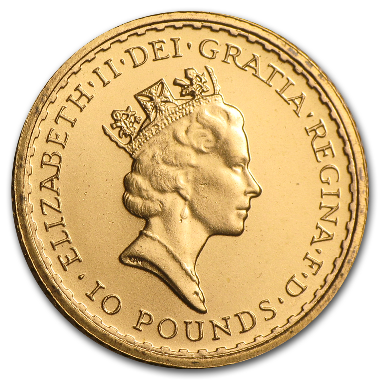 1987 Great Britain 1/10 oz Gold Britannia BU