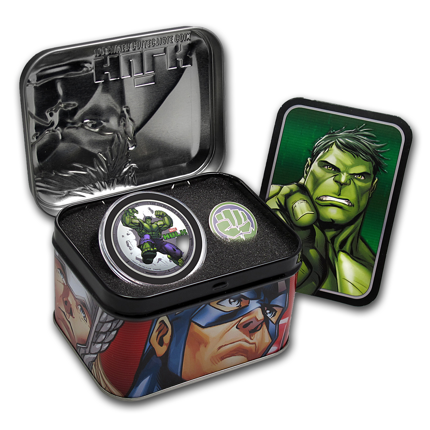 2014 Niue 4-Coin Silver The Avengers Proof Set