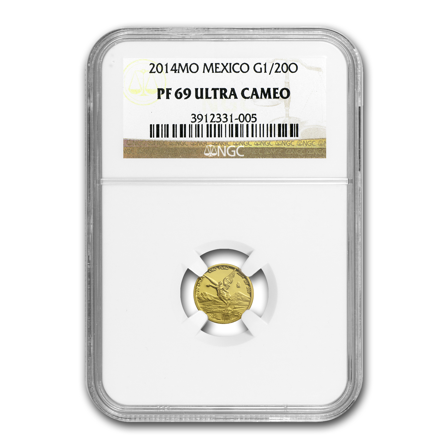 2014 Mexico 1/20 oz Gold Libertad PF-69 NGC