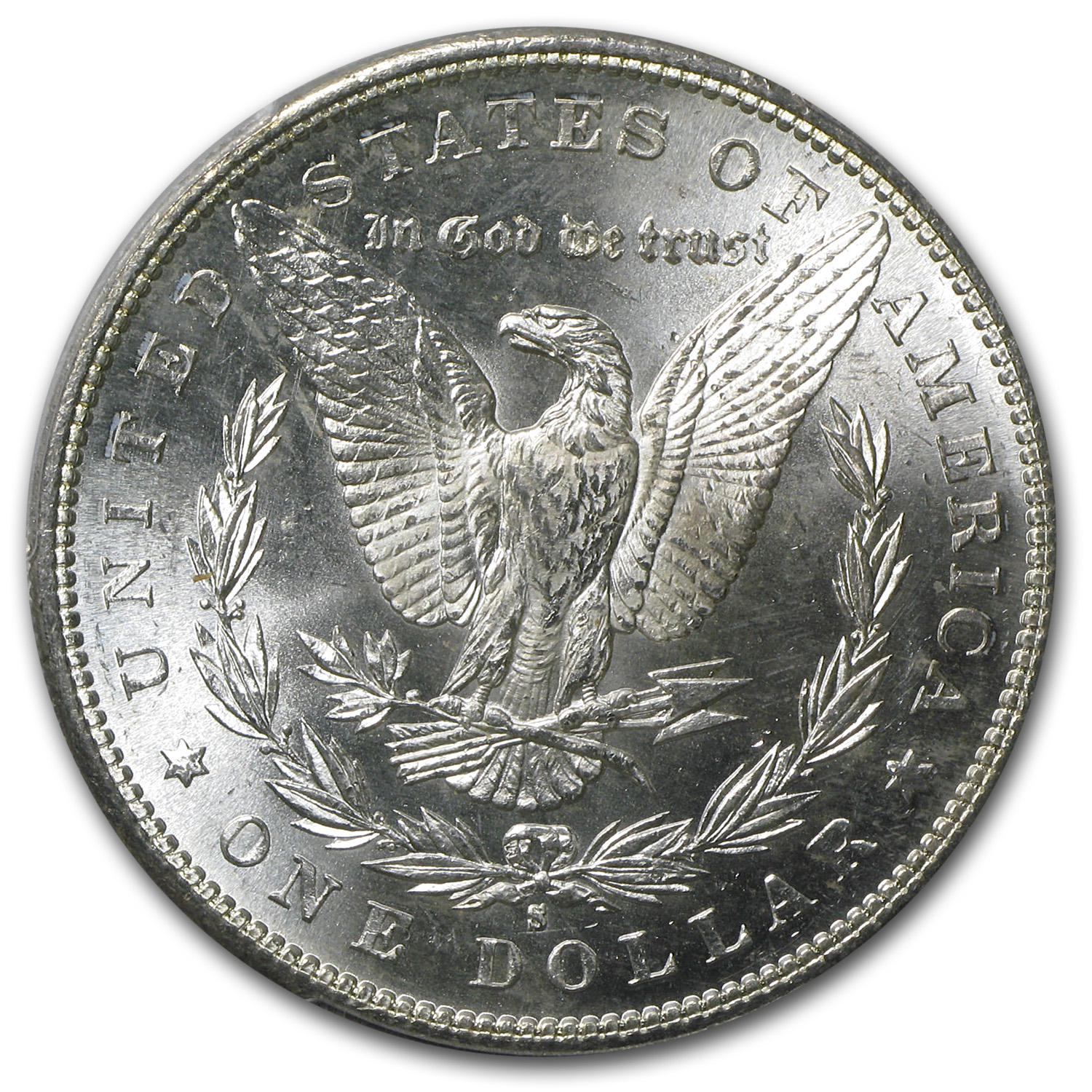 1881-S Morgan Dollar MS-63 PCGS