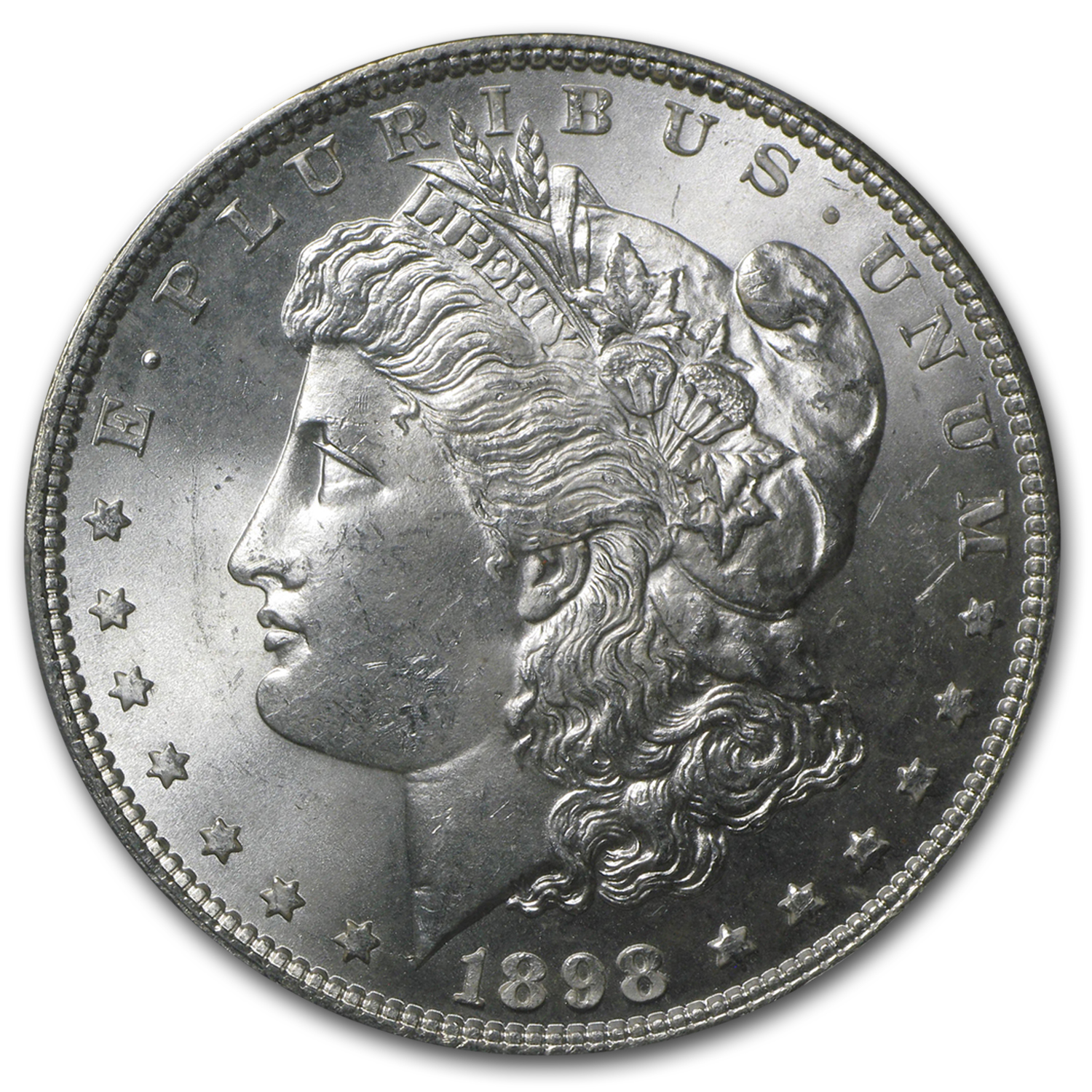 1898 Morgan Dollar - MS-64 PCGS