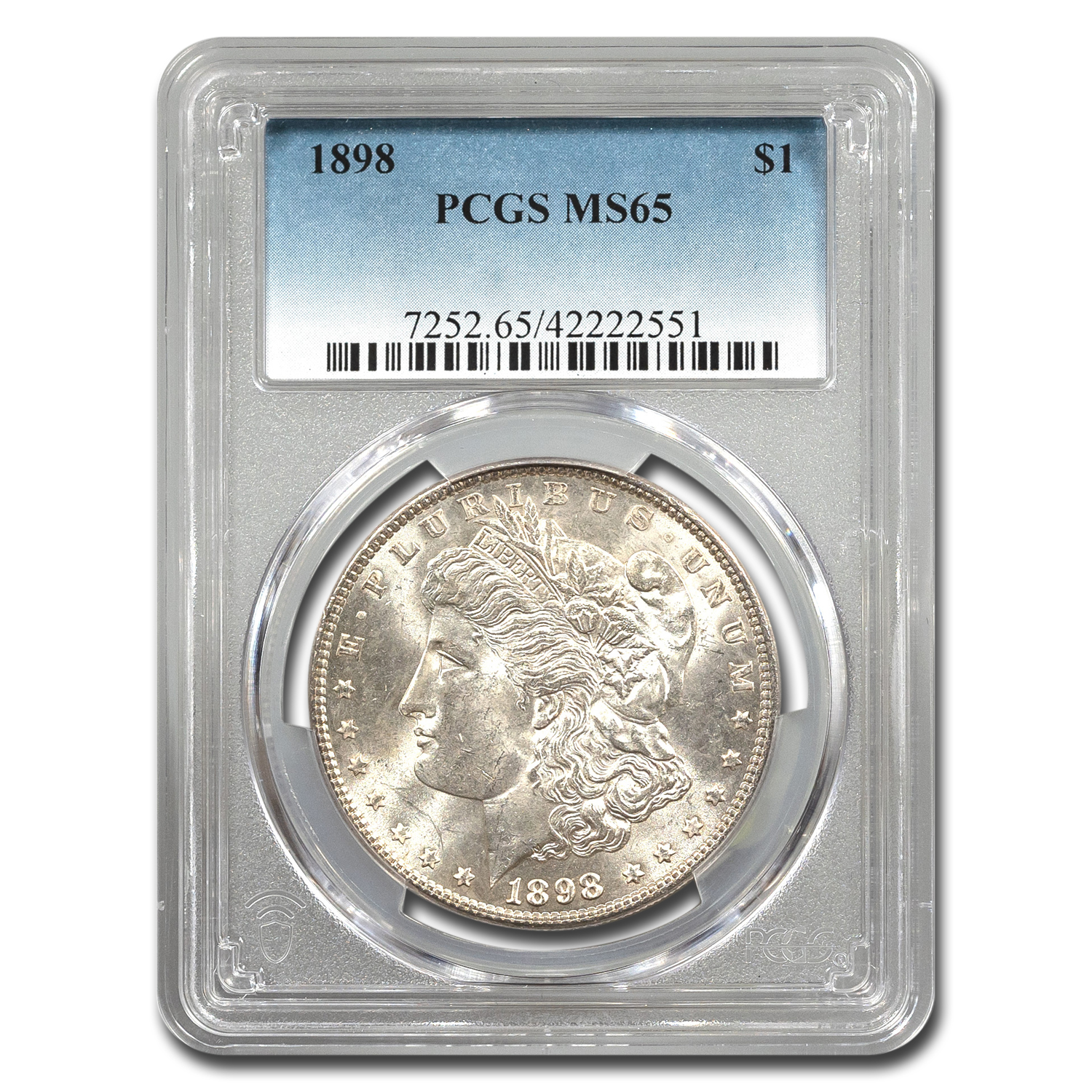 1898 Morgan Dollar MS-65 PCGS