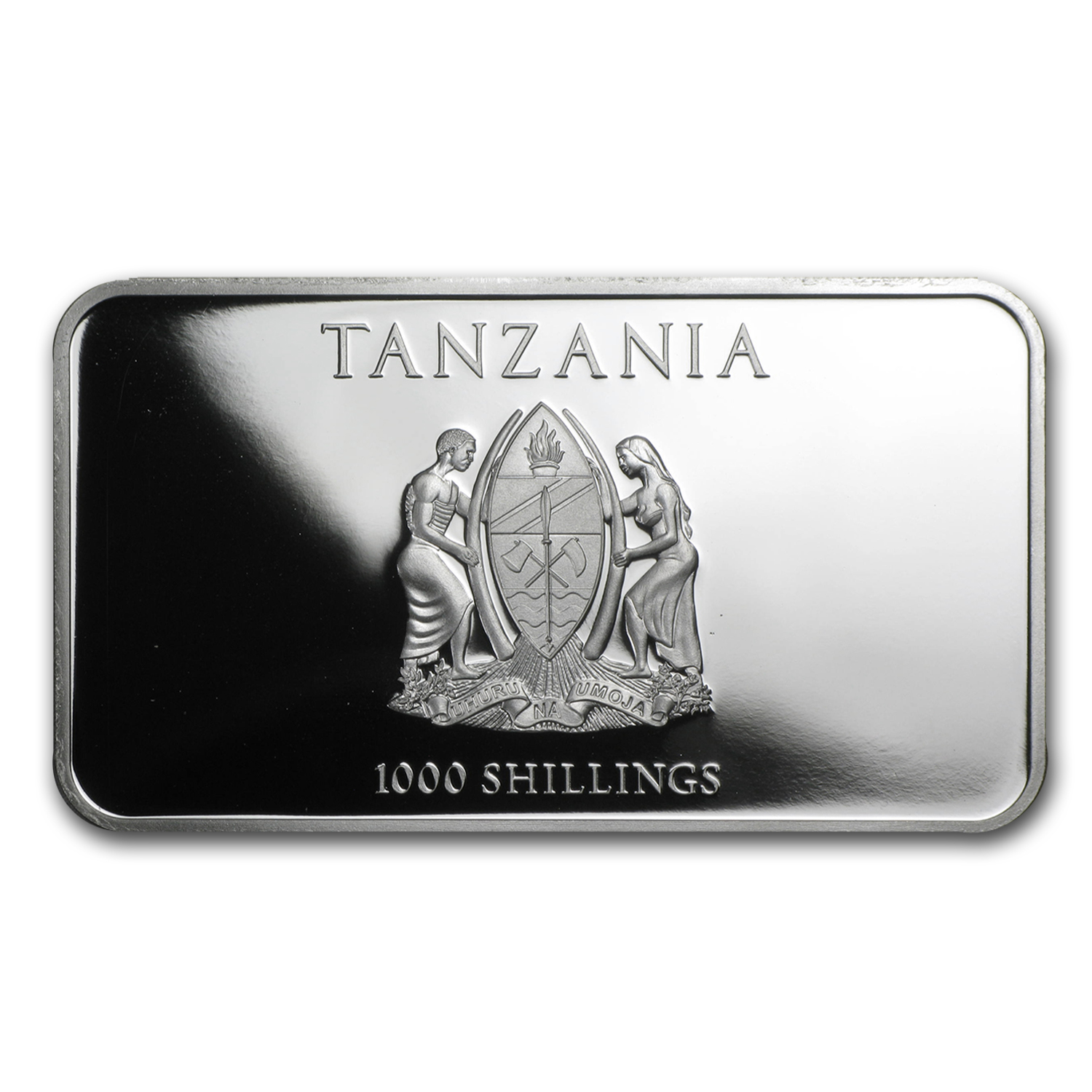 2014 Tanzania 1 oz Silver The Three Wise Monkeys Proof