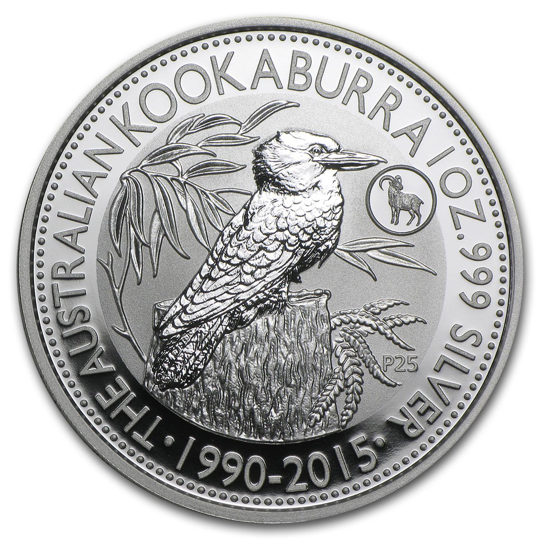 2015 Australia 1 Oz Silver Kookaburra Coin Perth Mint