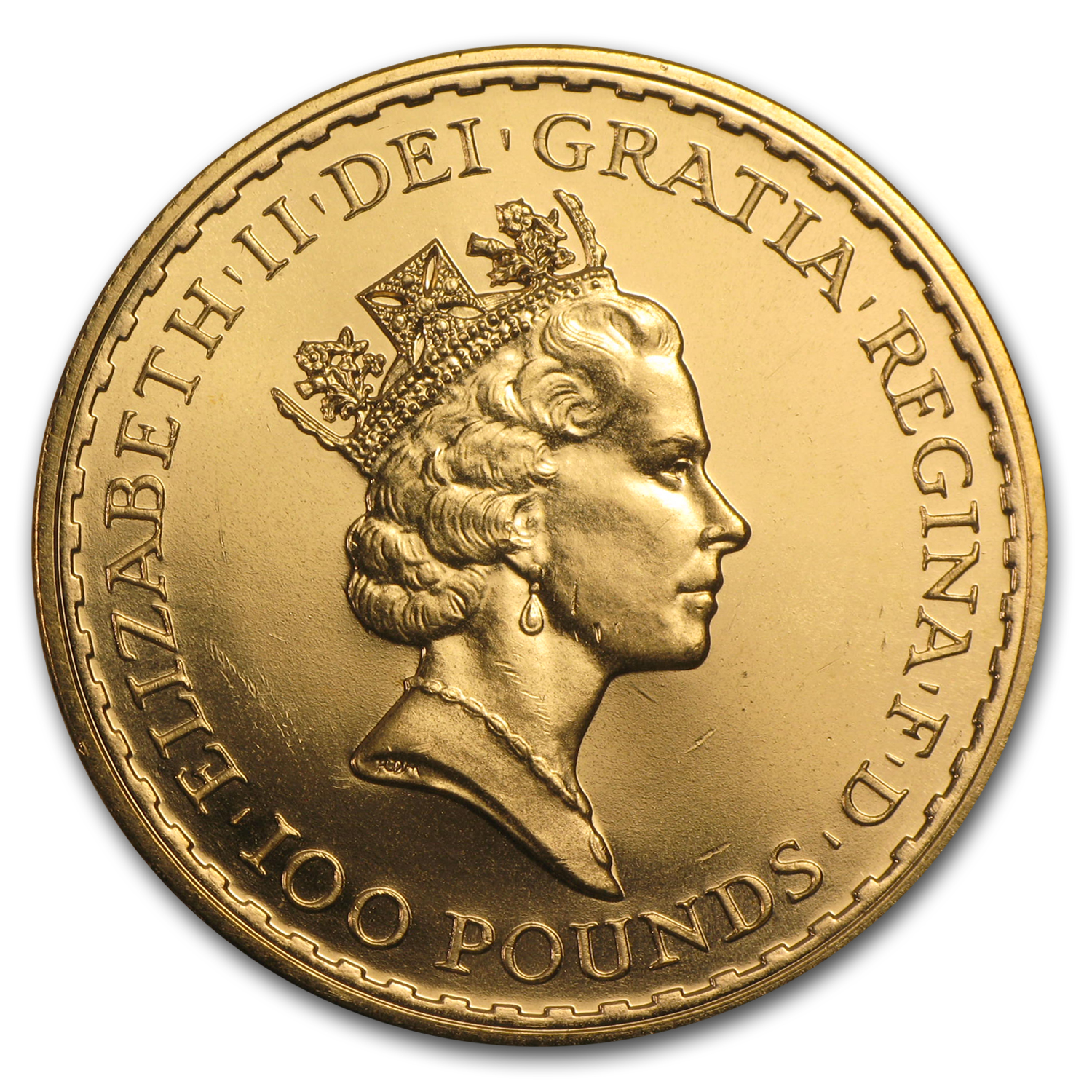 1987 Great Britain 1 oz Gold Britannia BU