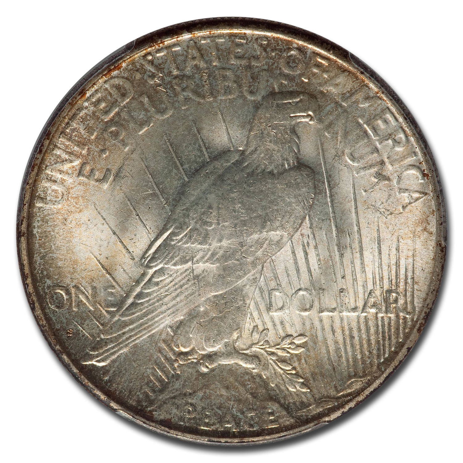 1925-S Peace Dollar MS-64 PCGS
