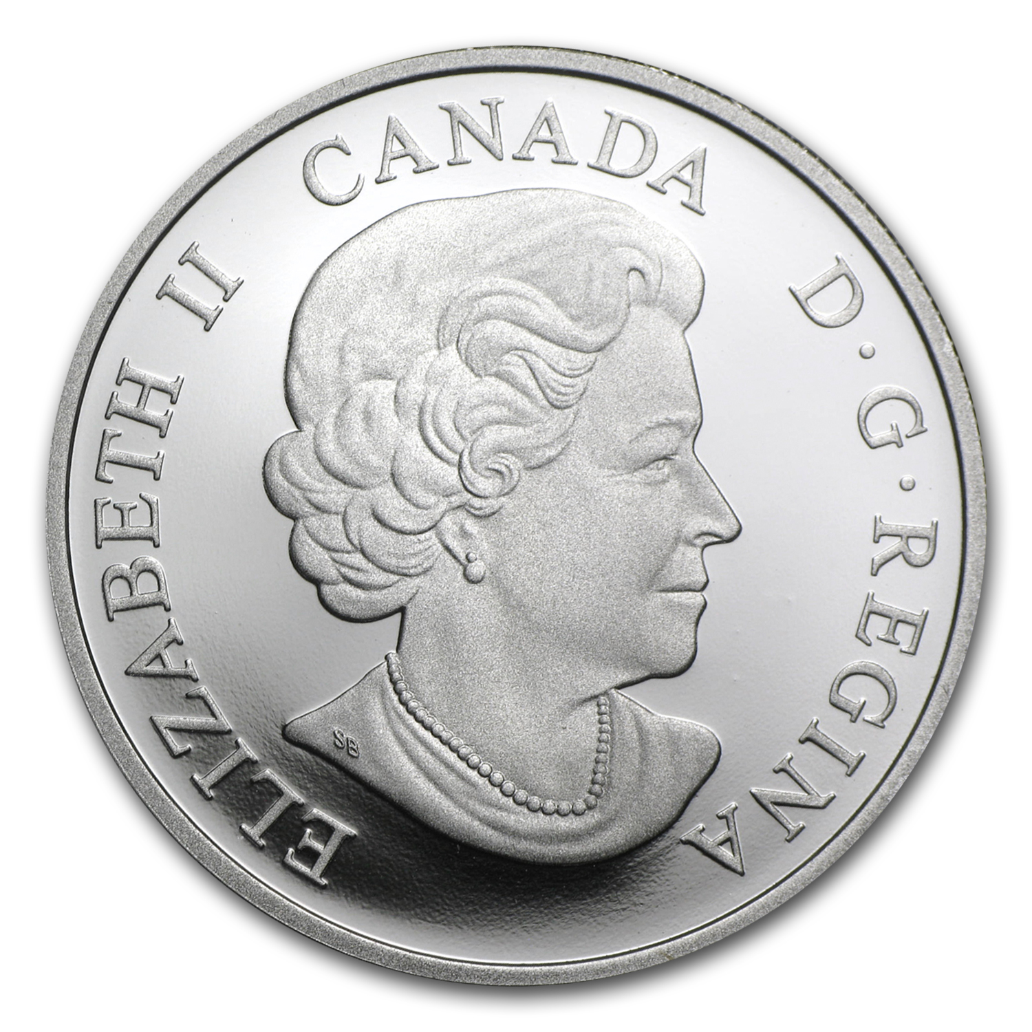 2015 Canada 1 oz Silver $20 The Great Lakes (Lake Michigan)