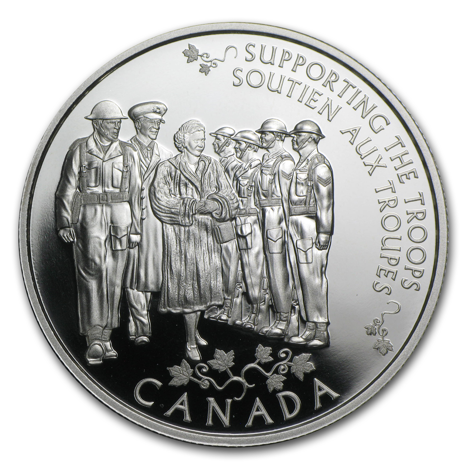 2014 Canada Proof Silver $5 Princess to Monarch