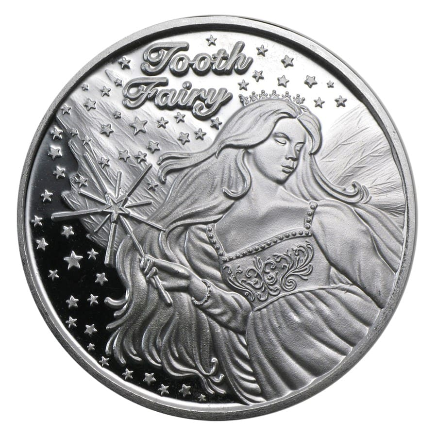 1 oz Silver Round - Tooth Fairy (2017)