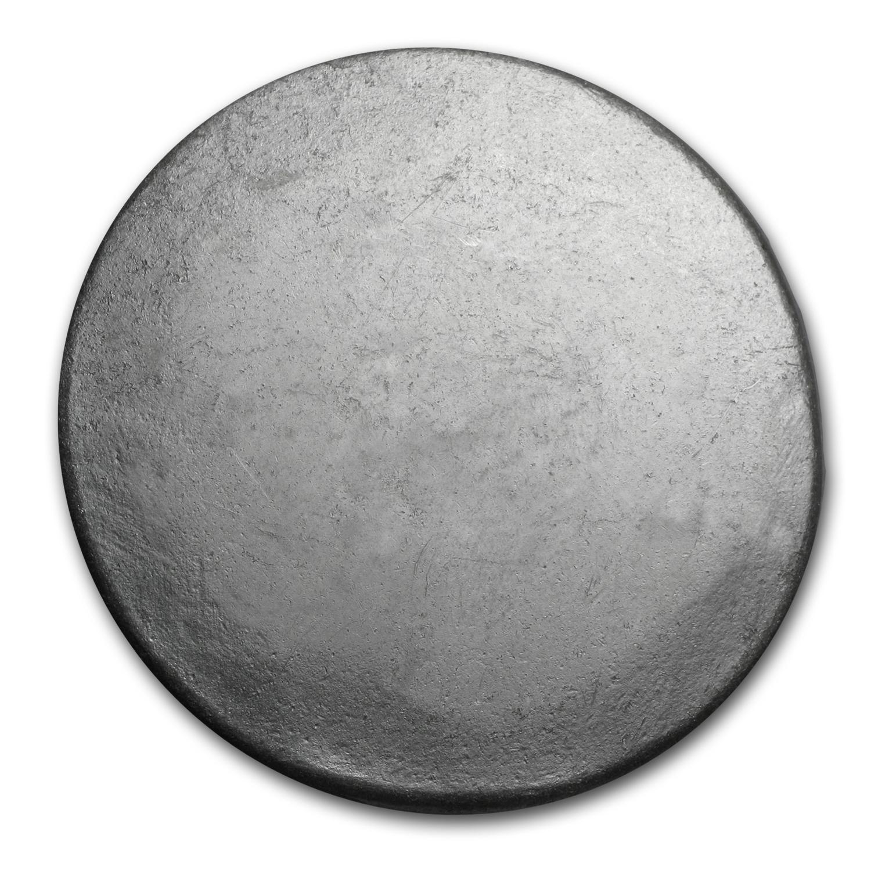 5 Oz Silver Button Bisbee 5 Oz Silver Bars Apmex