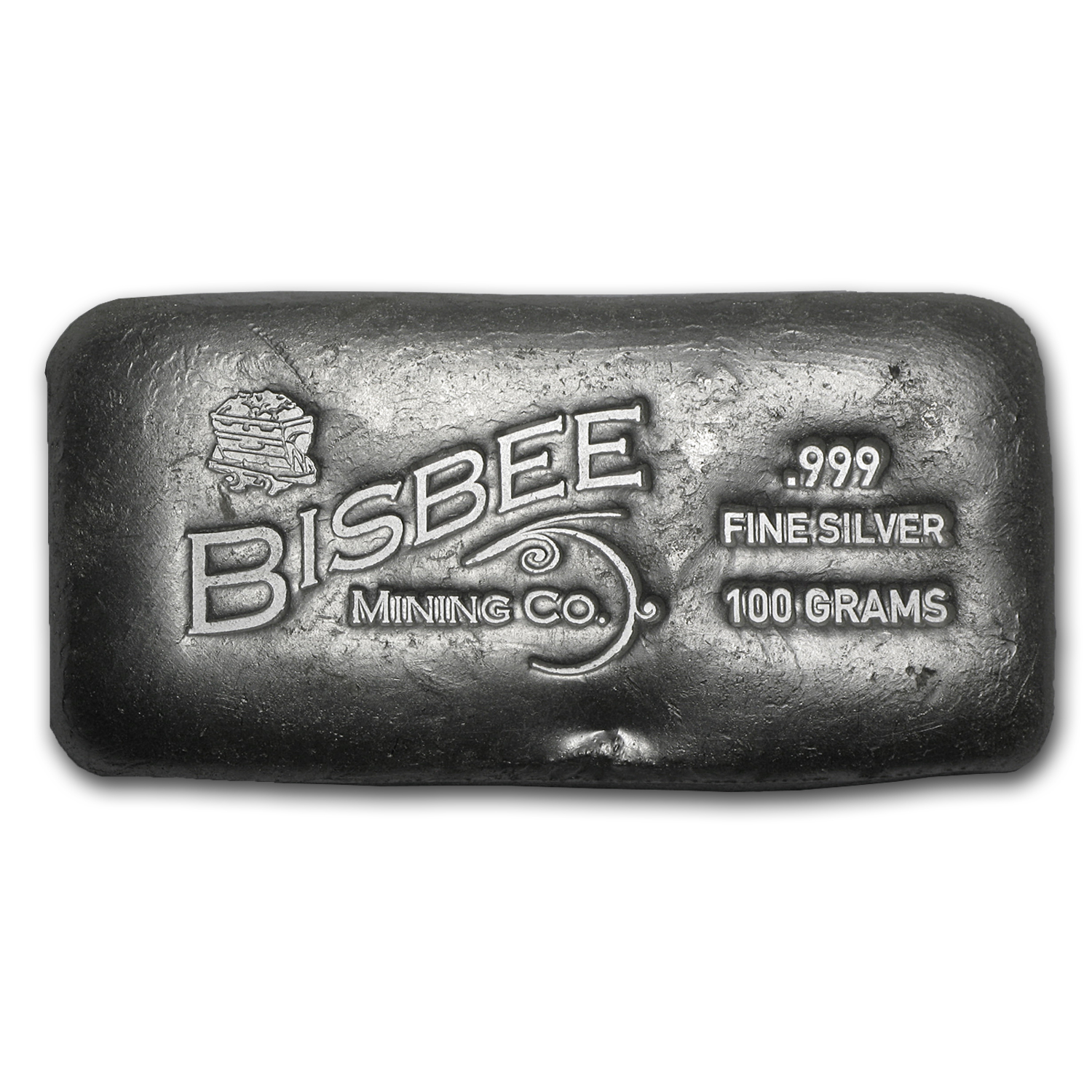 100 Gram Silver Bar Bisbee All Other Sizes Silver