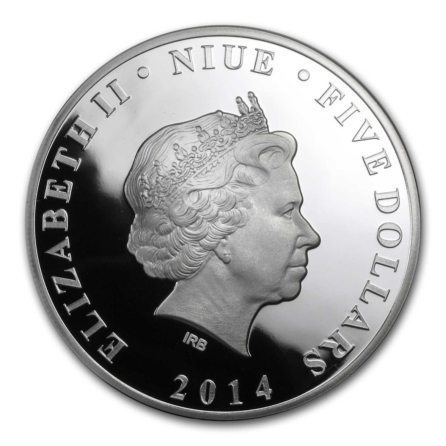 2014 Niue 2 oz Silver 75 Years of Batman Proof