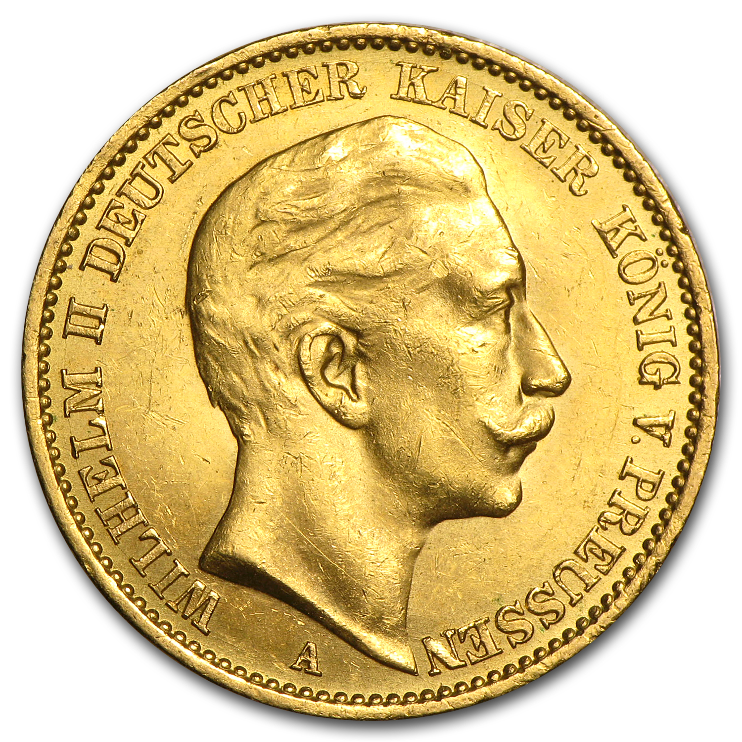 Germany Gold 20 Marks (Prussia) (AU)