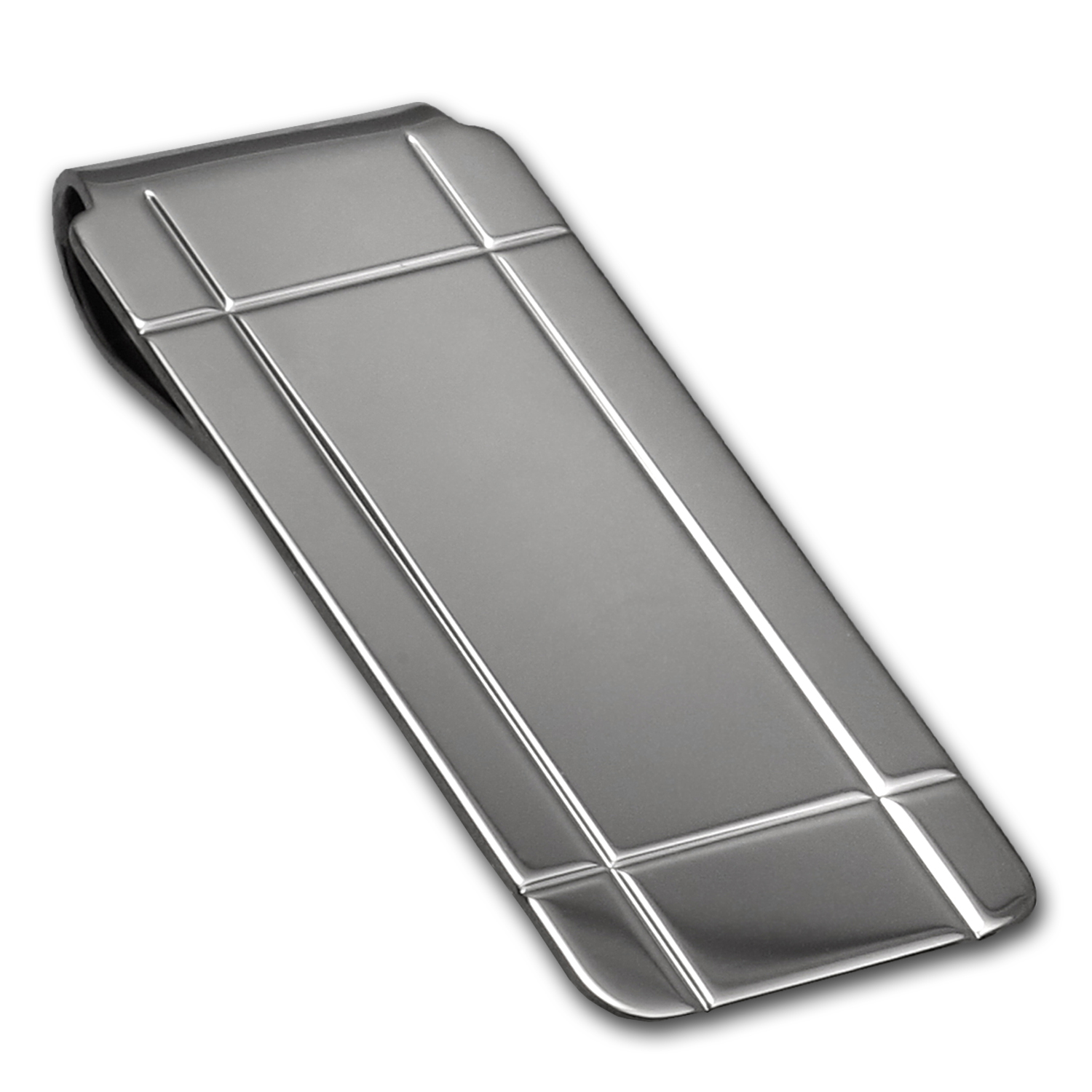 Sterling Silver Polished Money Clip