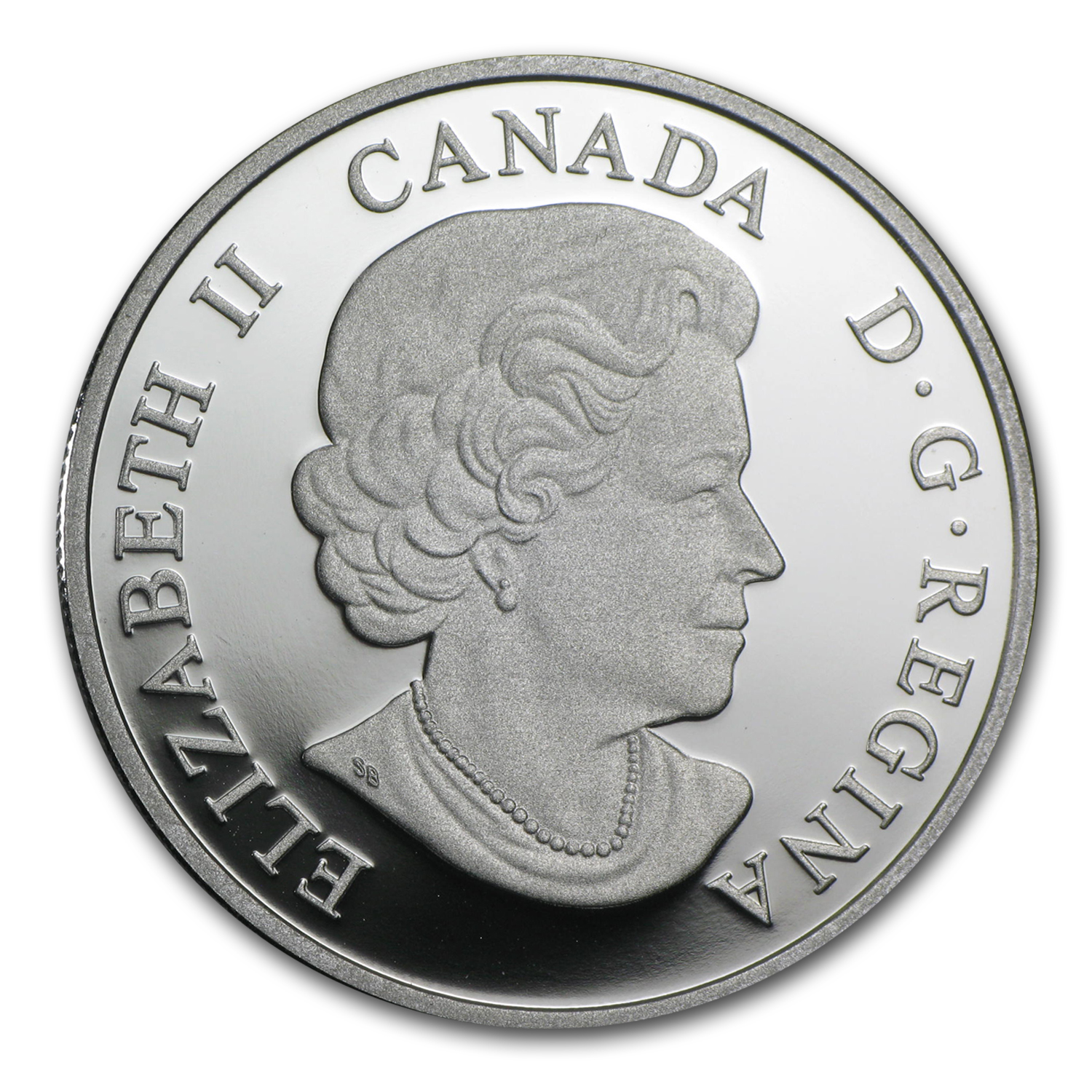 2014 Canada 1 oz Silver $20 Interconnections Sea Orca