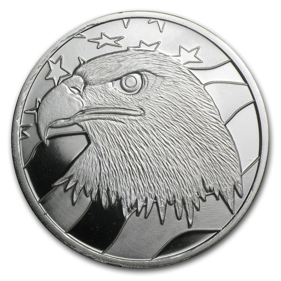 1 oz Silver Round - Pledge of Allegiance