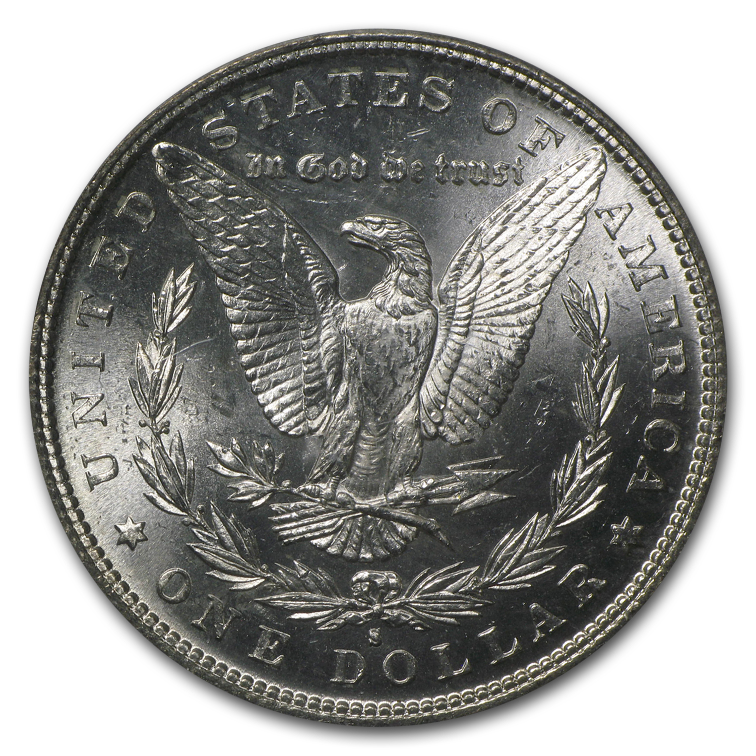 1882-S Morgan Dollar MS-64 PCGS