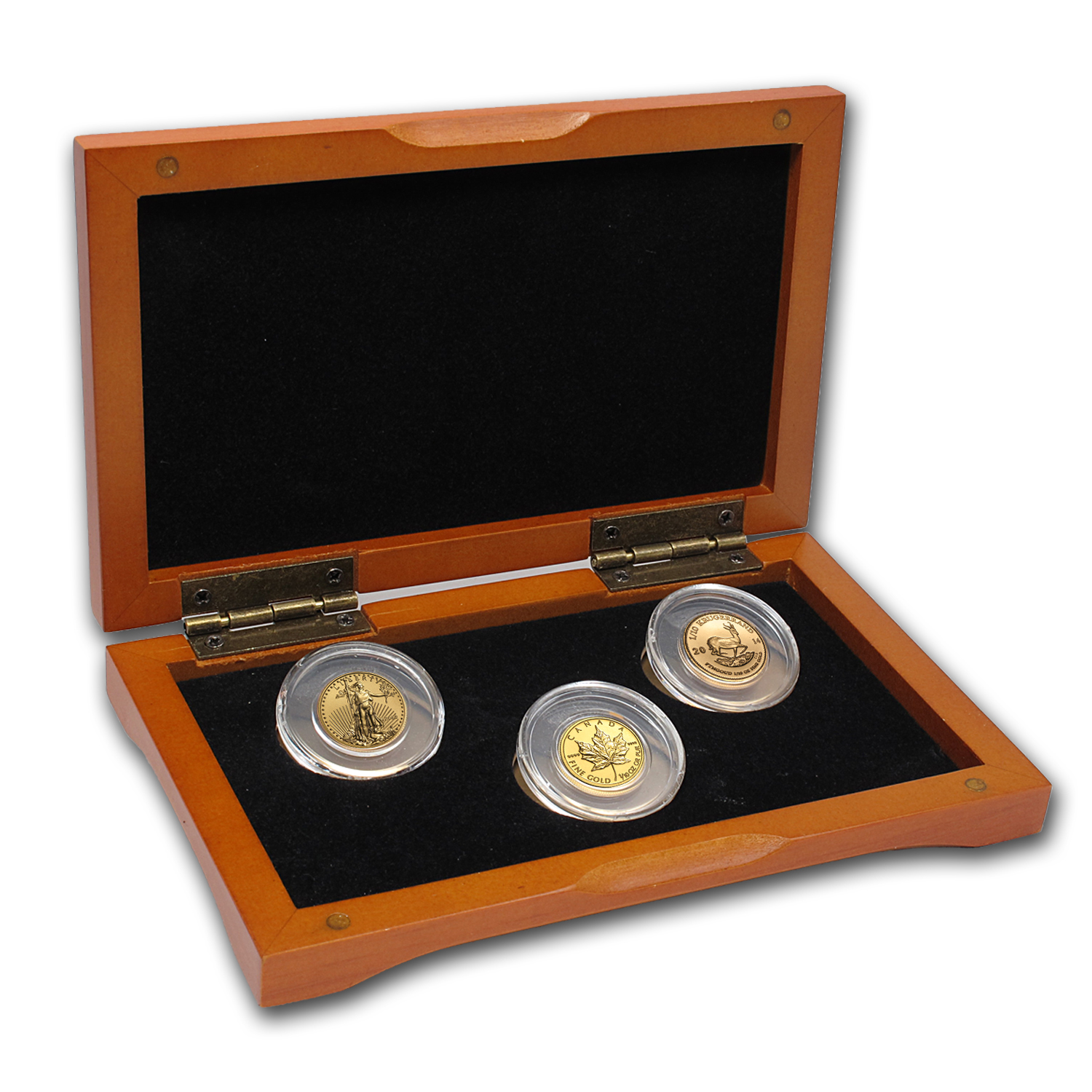 2014 3-Coin 1/10 oz Gold Mini-Sampler Pack for New Investors